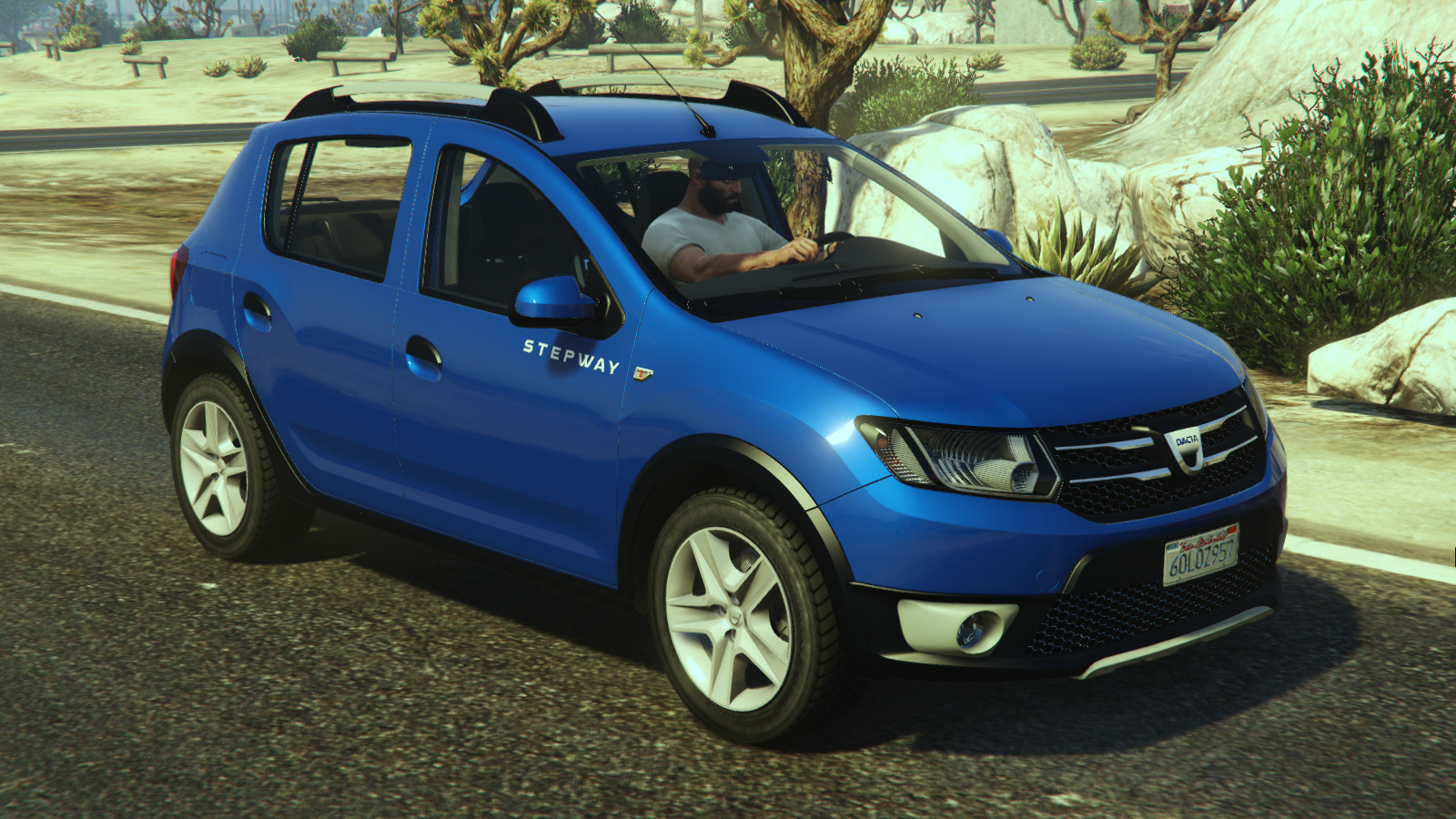 dacia sandero stepway 2014 gta5. Black Bedroom Furniture Sets. Home Design Ideas