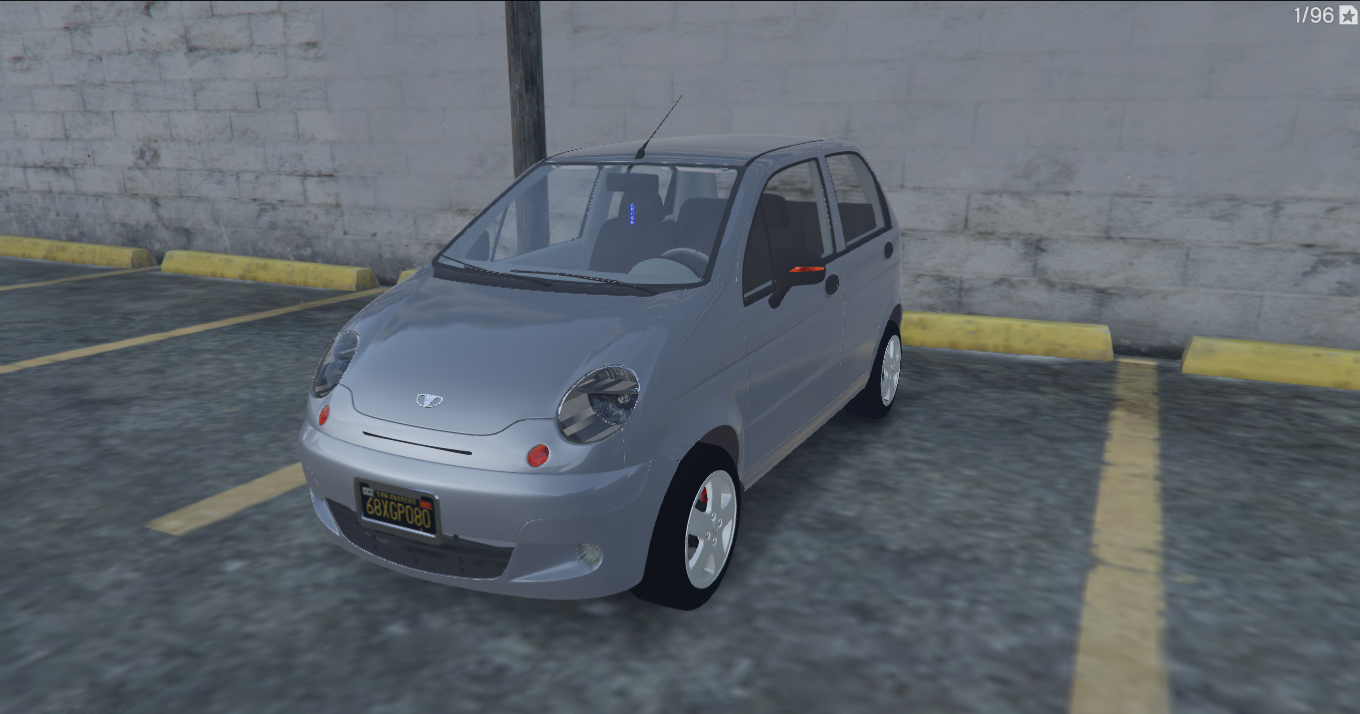 daewoo matiz uz gta5. Black Bedroom Furniture Sets. Home Design Ideas