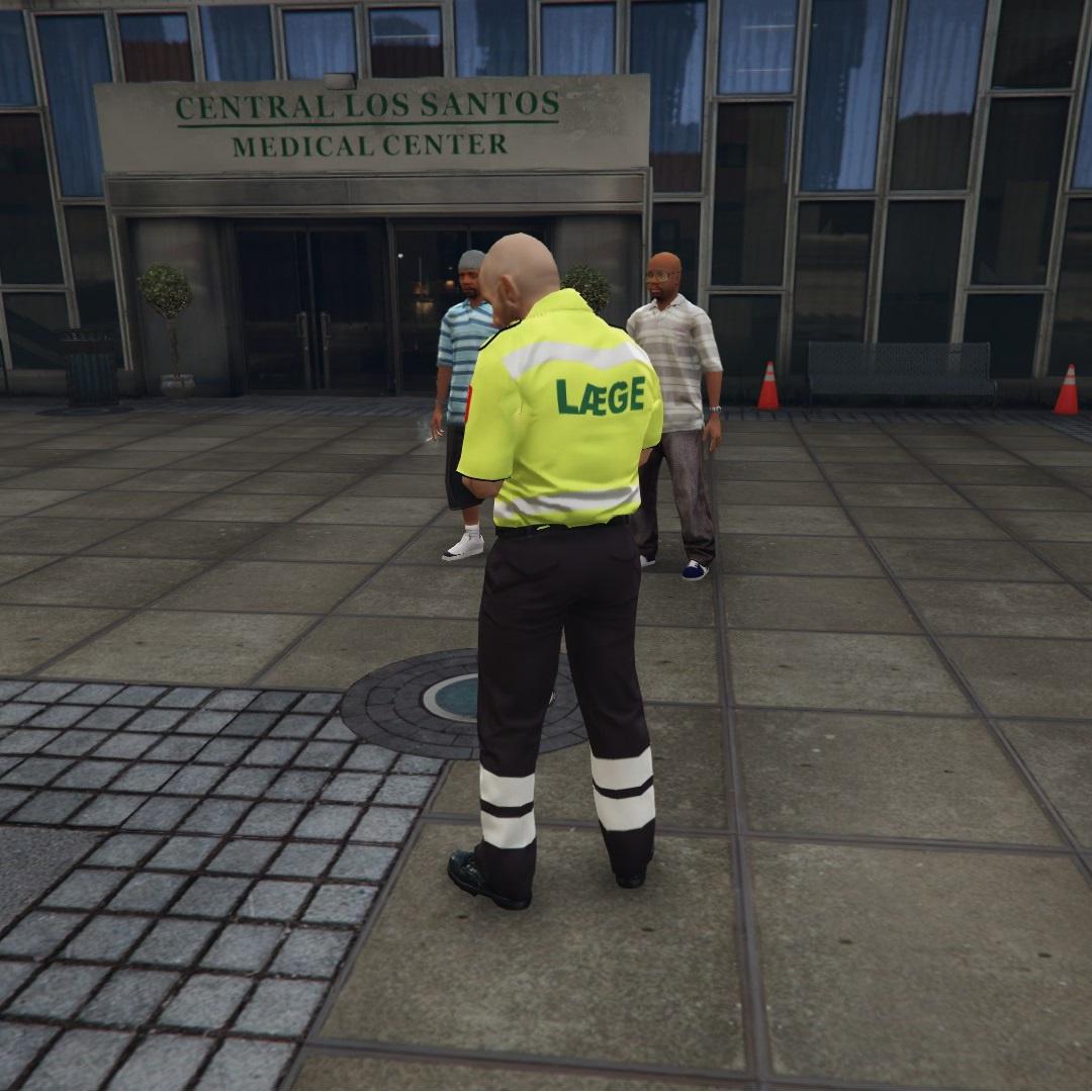 Danish Paramedic Uniform [Replace] FiveM and OpenIV files