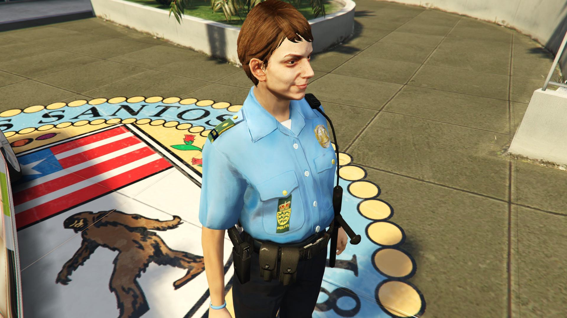Danish Police Uniform - Female (semi HD) - GTA5-Mods.com