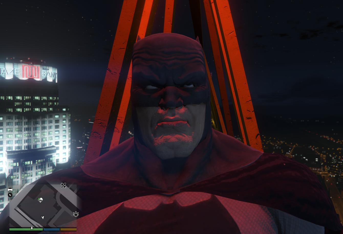 Dark Knight Returns Batman Gta5 Mods Com