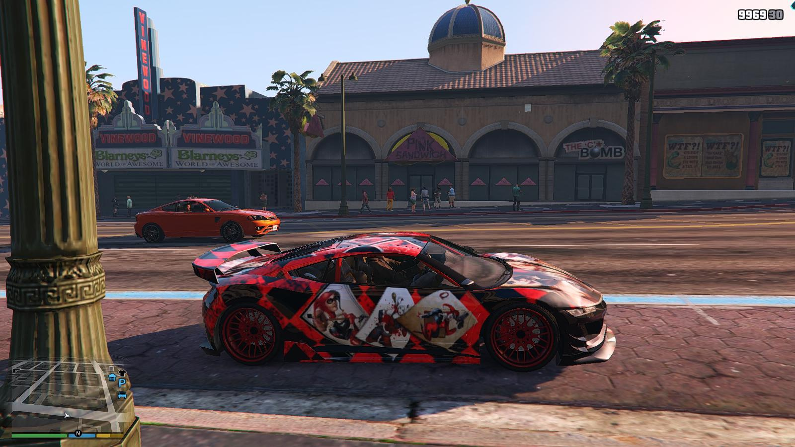 DC Harley Quinn Paintjob for Jester - GTA5-Mods.com
