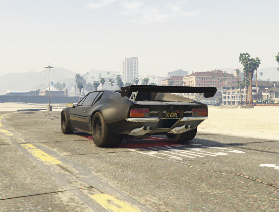 De Tomaso Pantera Gts Add On Tuning Gta5 Mods Com