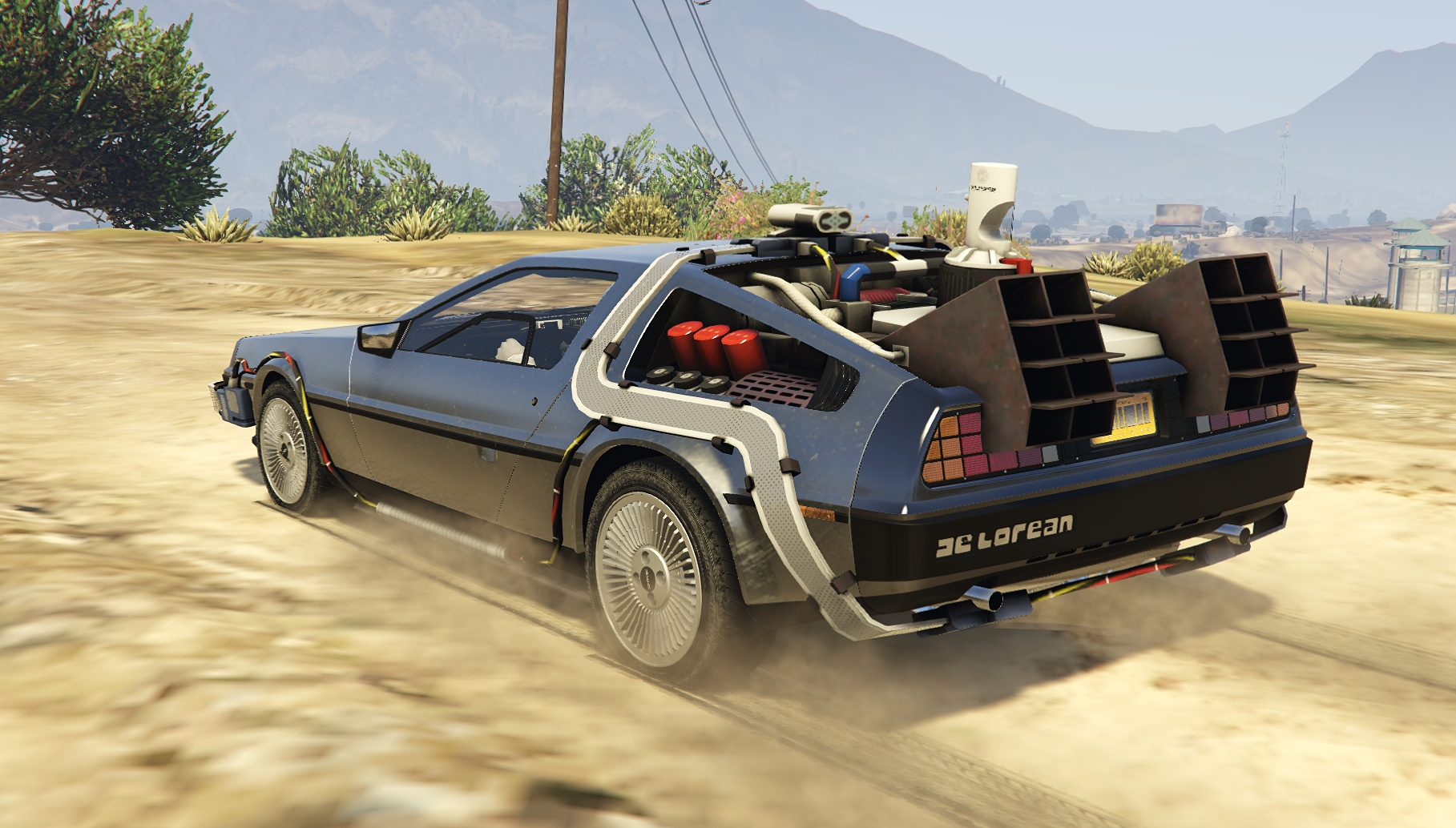 Delorean Dmc12 Bttf2 Amp Flying Add On Gta5 Mods Com