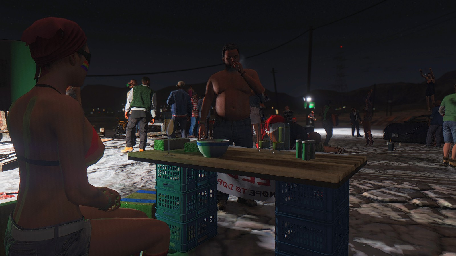 gta 5 how to create party