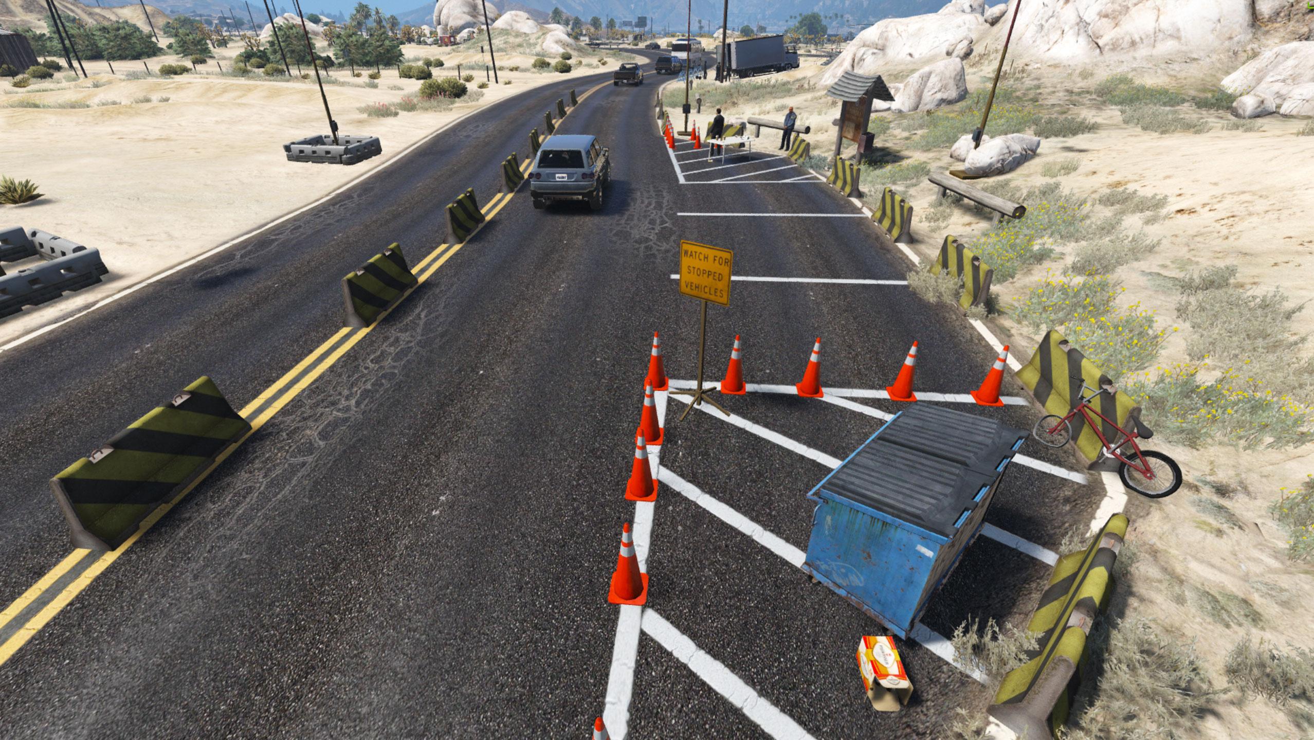 com Desert Checkpoint Police - menyoo Gta5-mods nationality