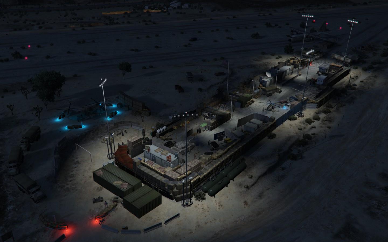 Detaillierte US Militär Basis Map Editor GTAModscom - Us map editor