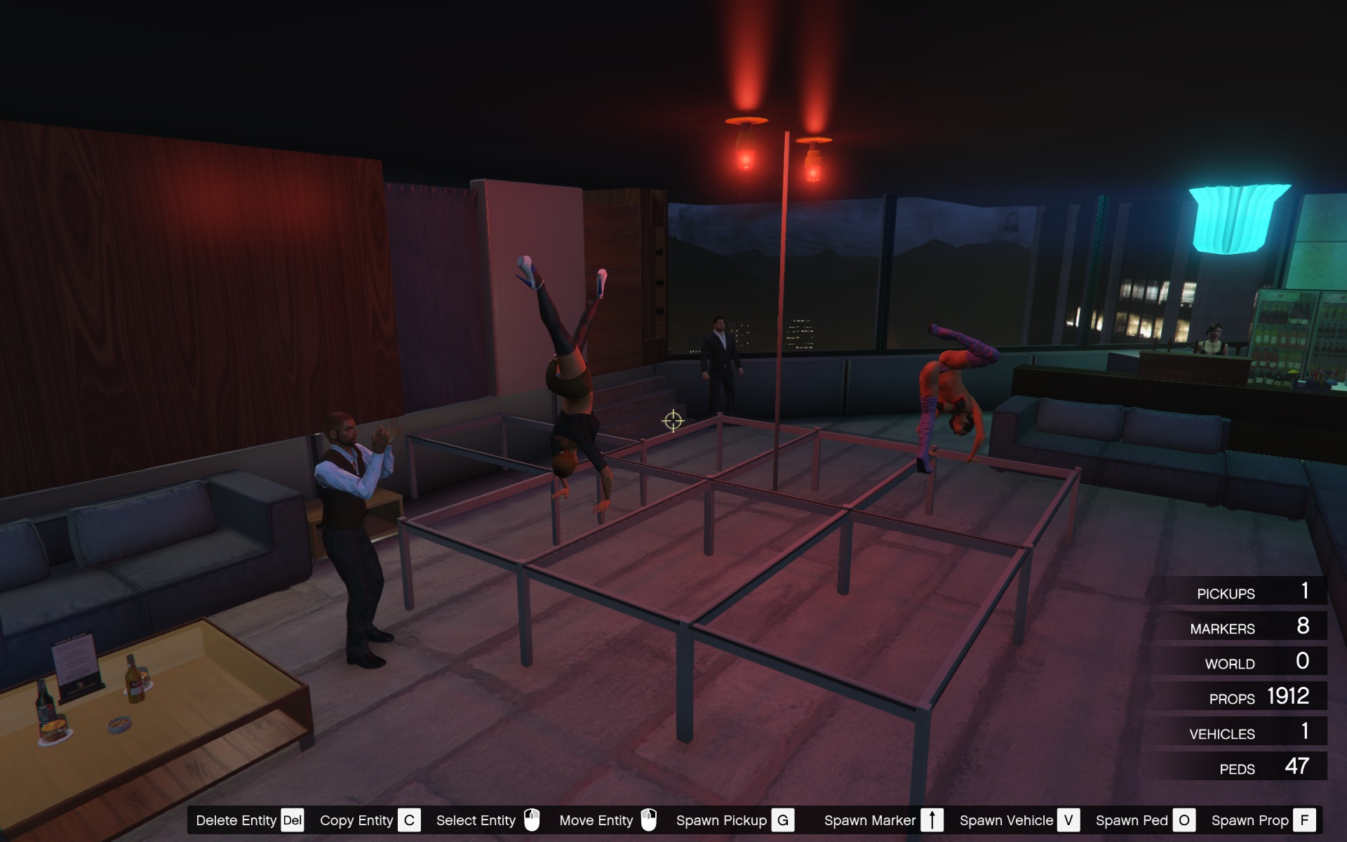 Strip Club Conference Room