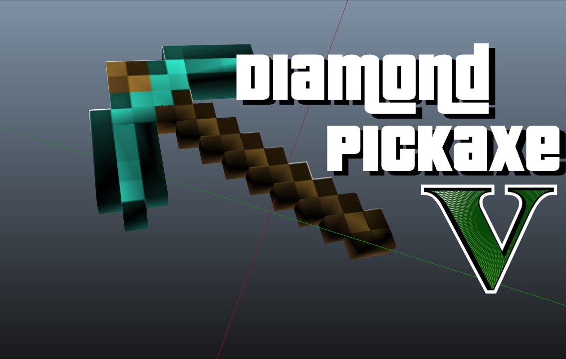 how to get a diamond pickaxe in minecraft