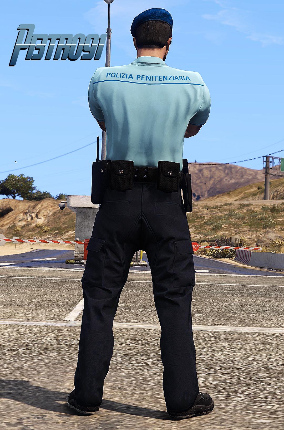 Divisa Polizia Penitenziaria Freemode Gta5 Mods Com