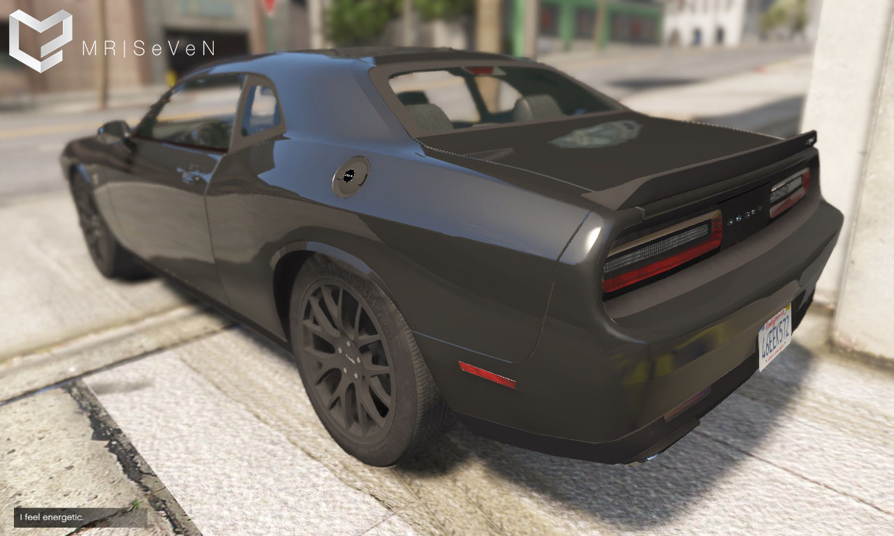 Dodge Challenger Hellcat 2016 Add On Replace Gta5 Mods Com