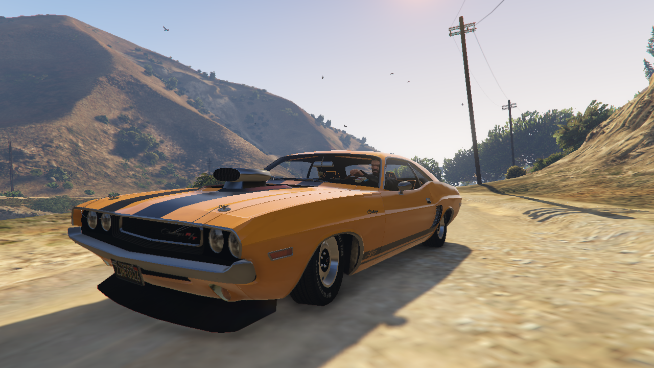 dodge challenger rt 1970 animated template tuneable wipers gta5. Black Bedroom Furniture Sets. Home Design Ideas