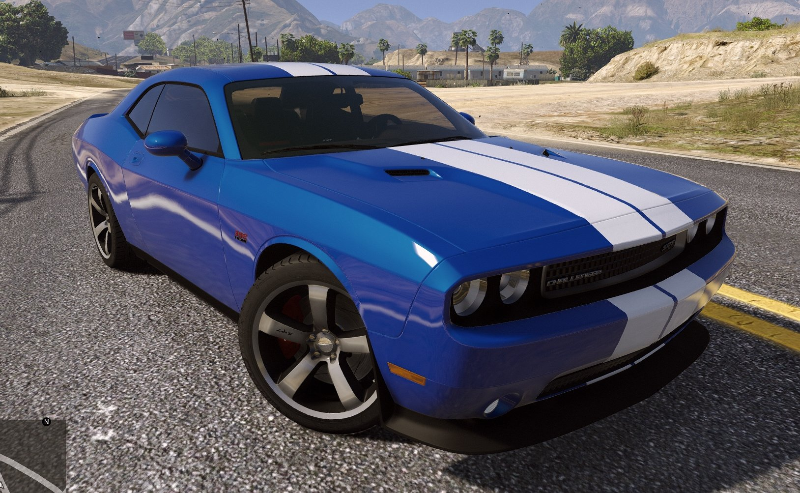 Dodge Challenger Srt8 392 Add On Gta5 Mods Com