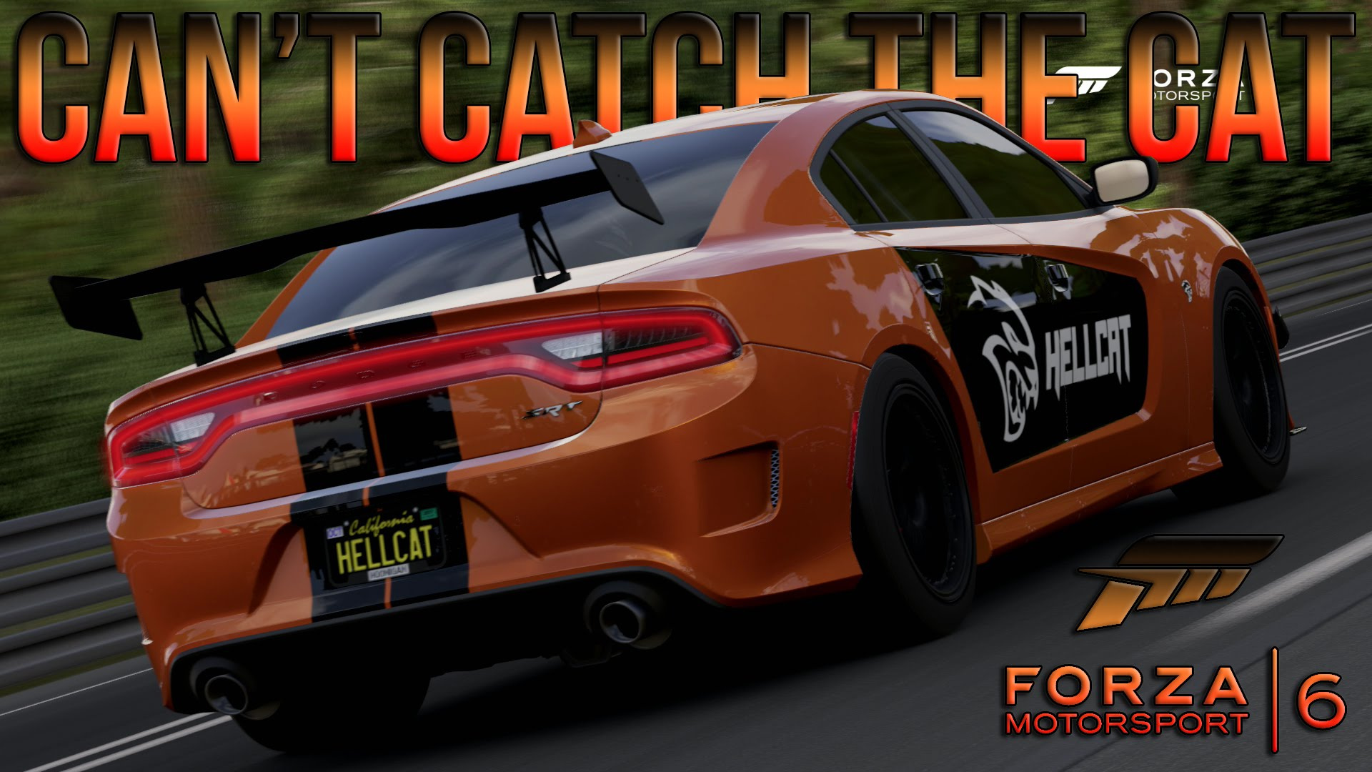 Dodge Charger Hellcat Forza6 Livery Gta5 Mods Com
