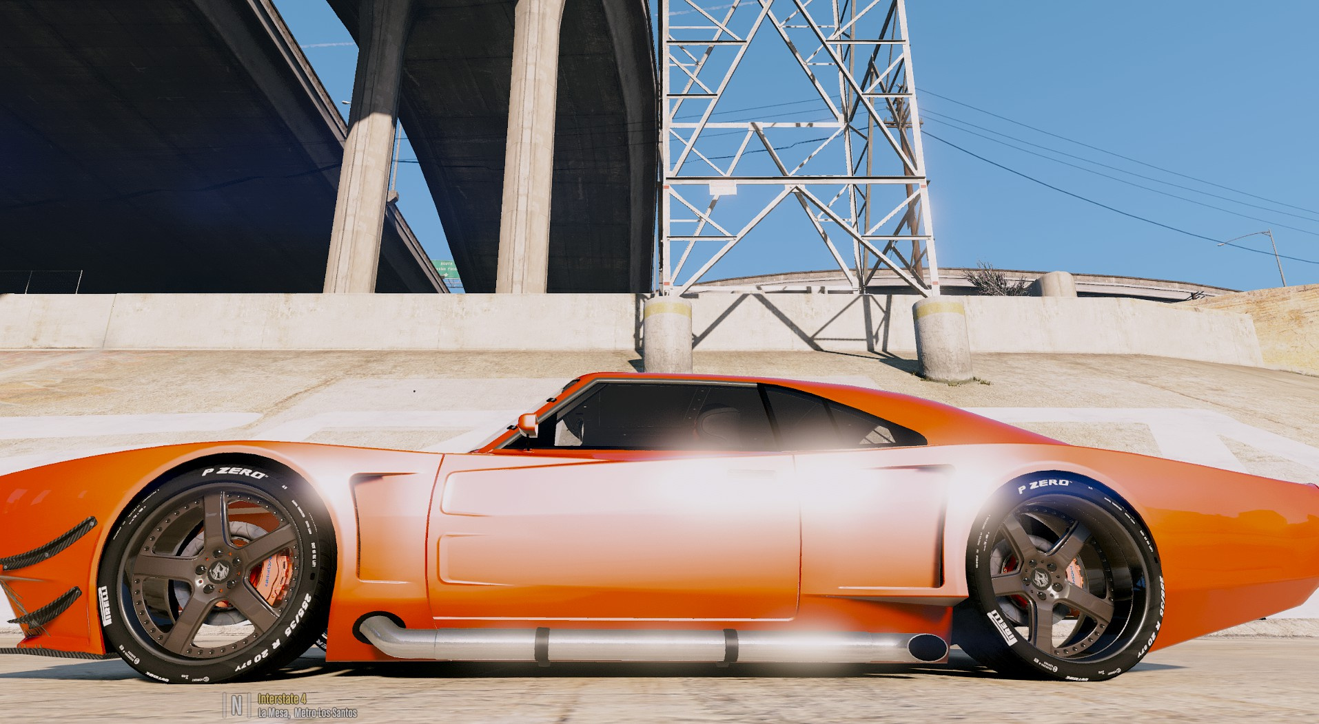 Dodge Charger Hemi Mopar Racing Edition Add On Gta5