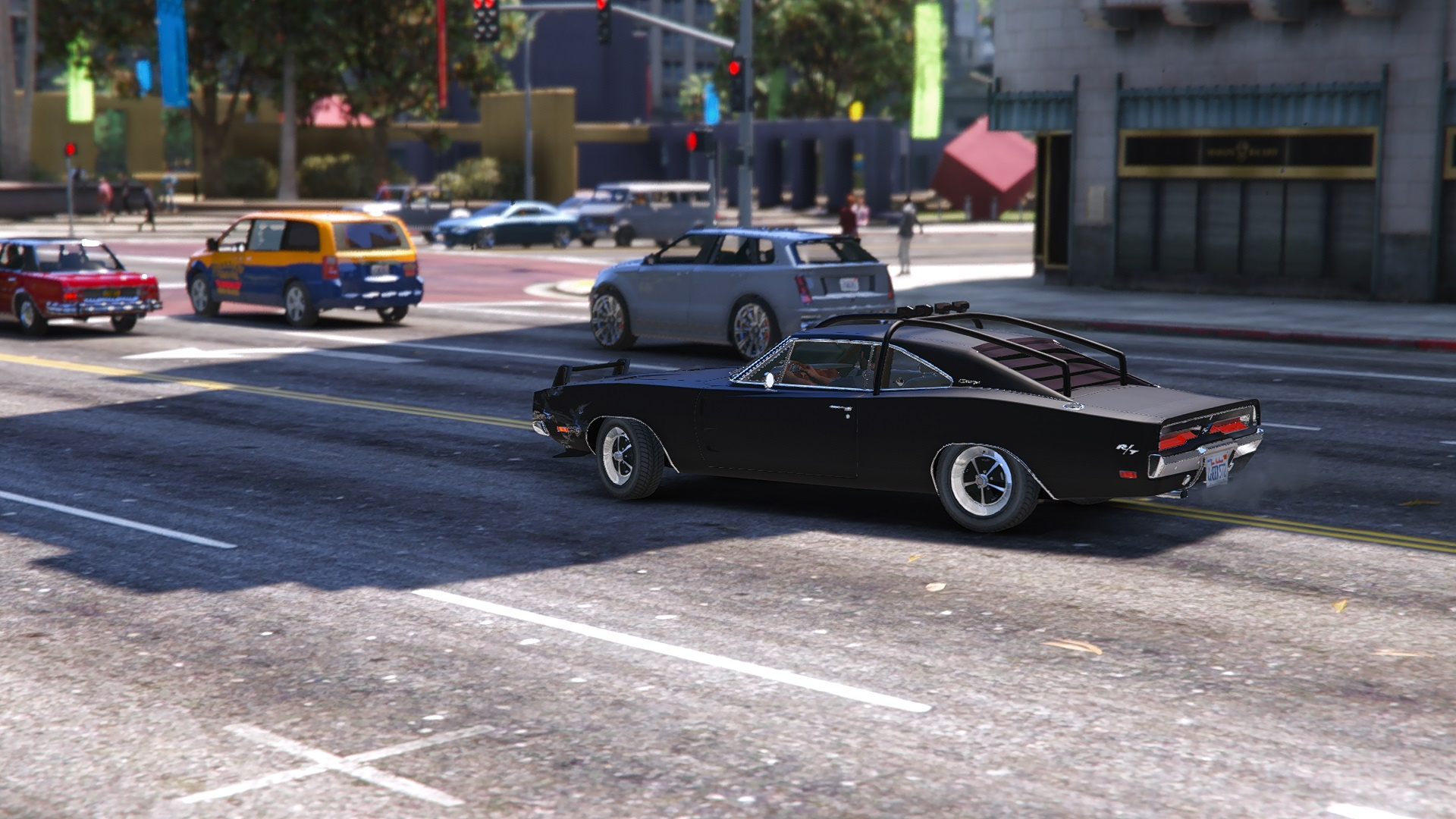 Dodge Charger O Death 1969 Add On Replace Gta5 Mods Com