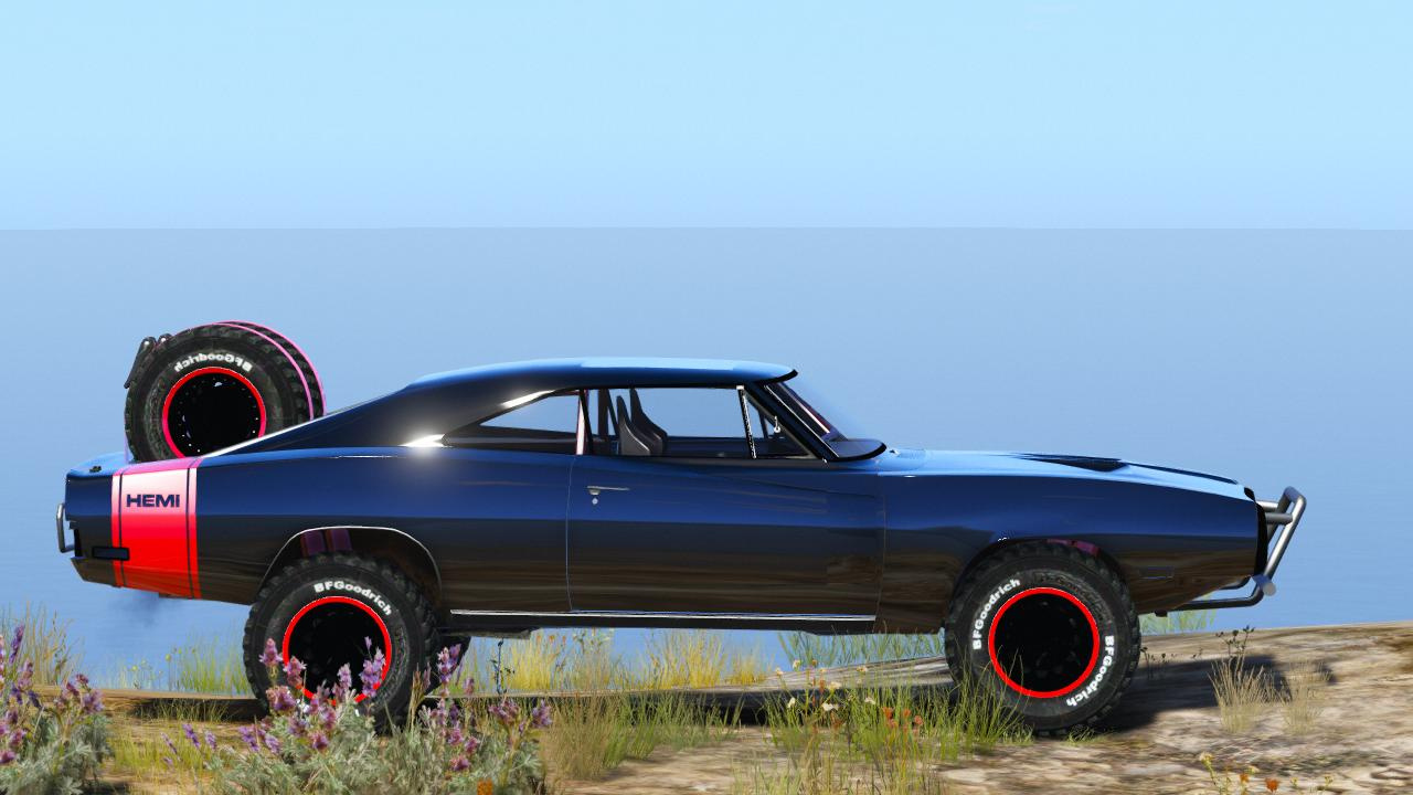 Dodge Charger Off-Road Fast & Furious 7 [Add-On / Rep] - GTA5 ...