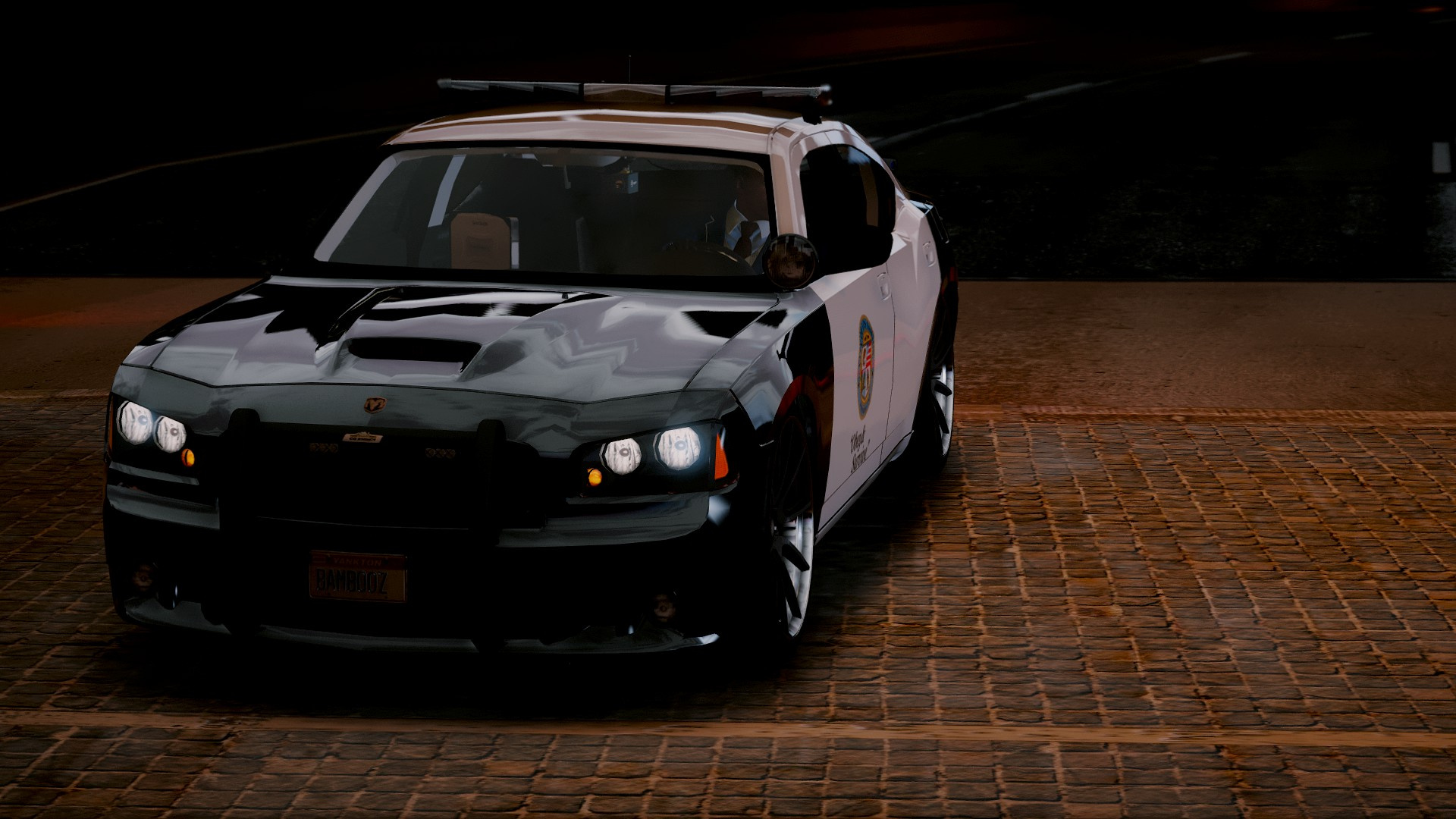 dodge charger srt8 police replace interior gta5. Black Bedroom Furniture Sets. Home Design Ideas