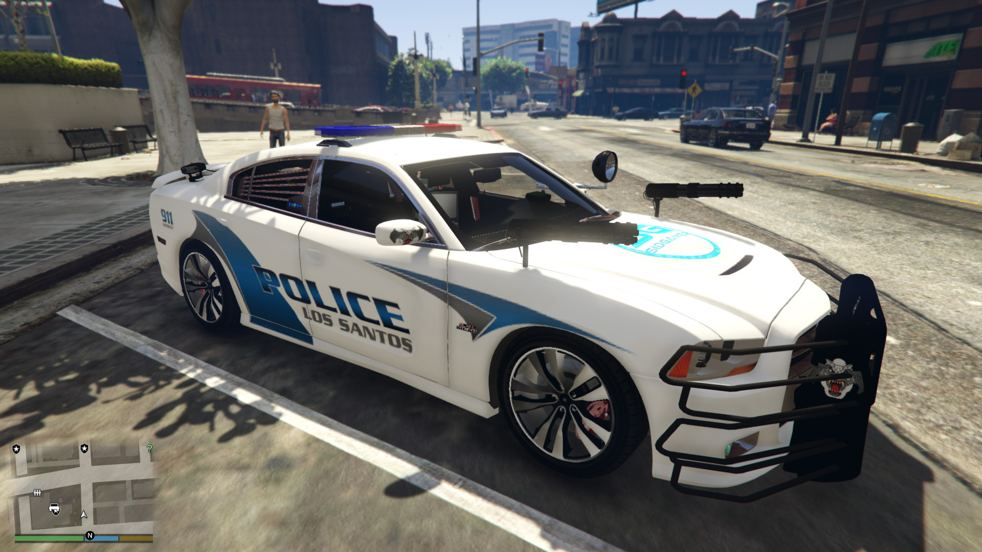 dodge charger srt8 police weapons v 1 gta5. Black Bedroom Furniture Sets. Home Design Ideas