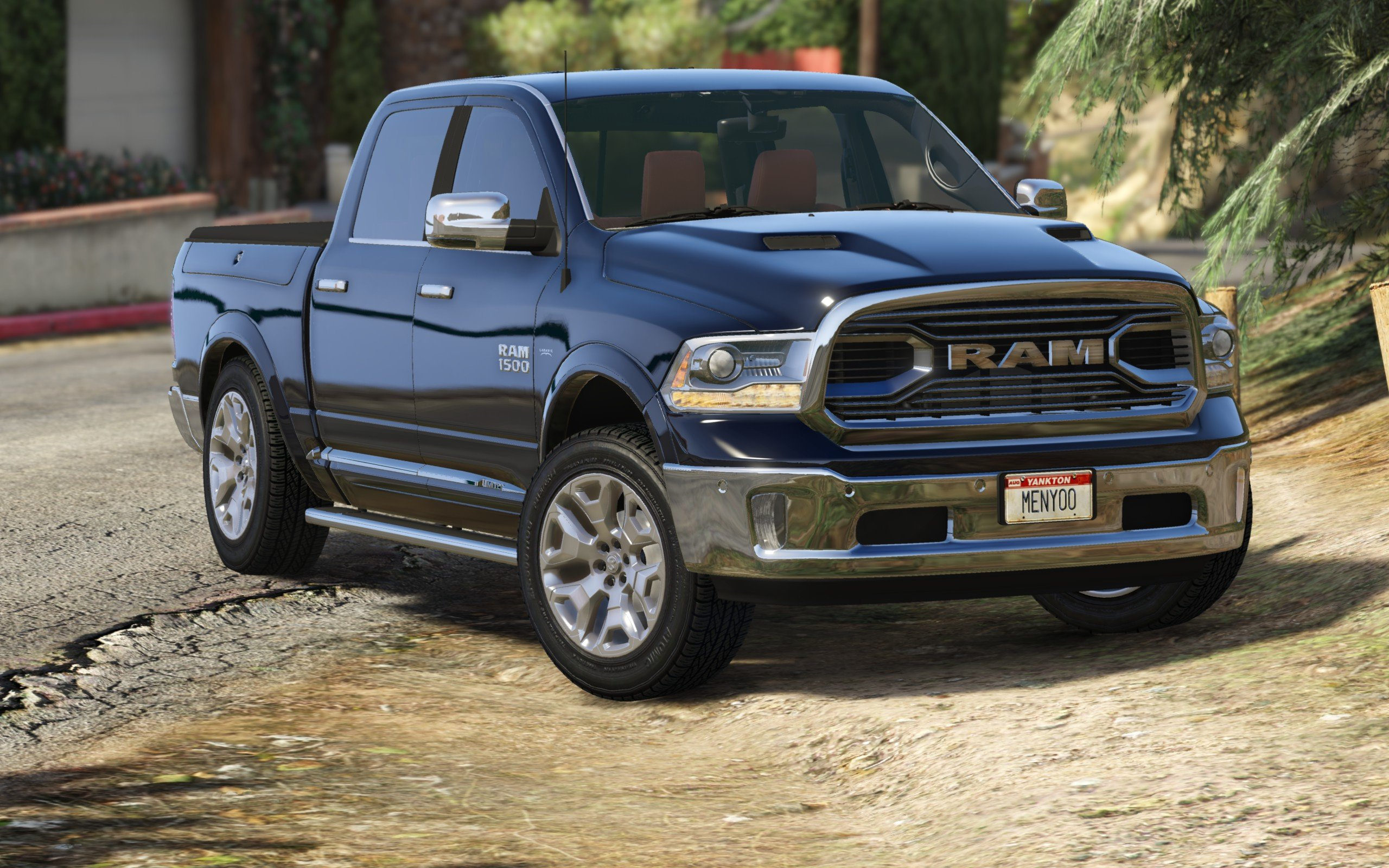 2016 dodge ram limited add on replace tuning gta5. Black Bedroom Furniture Sets. Home Design Ideas