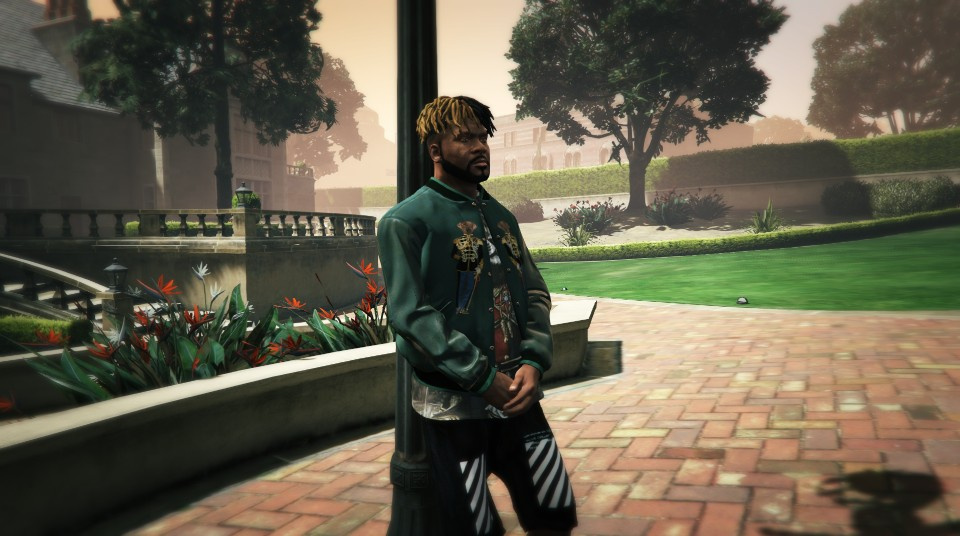 c1856f339ee5 Dolce   Gabbana embroidered bomber jacket with T-Shirt - GTA5-Mods.com