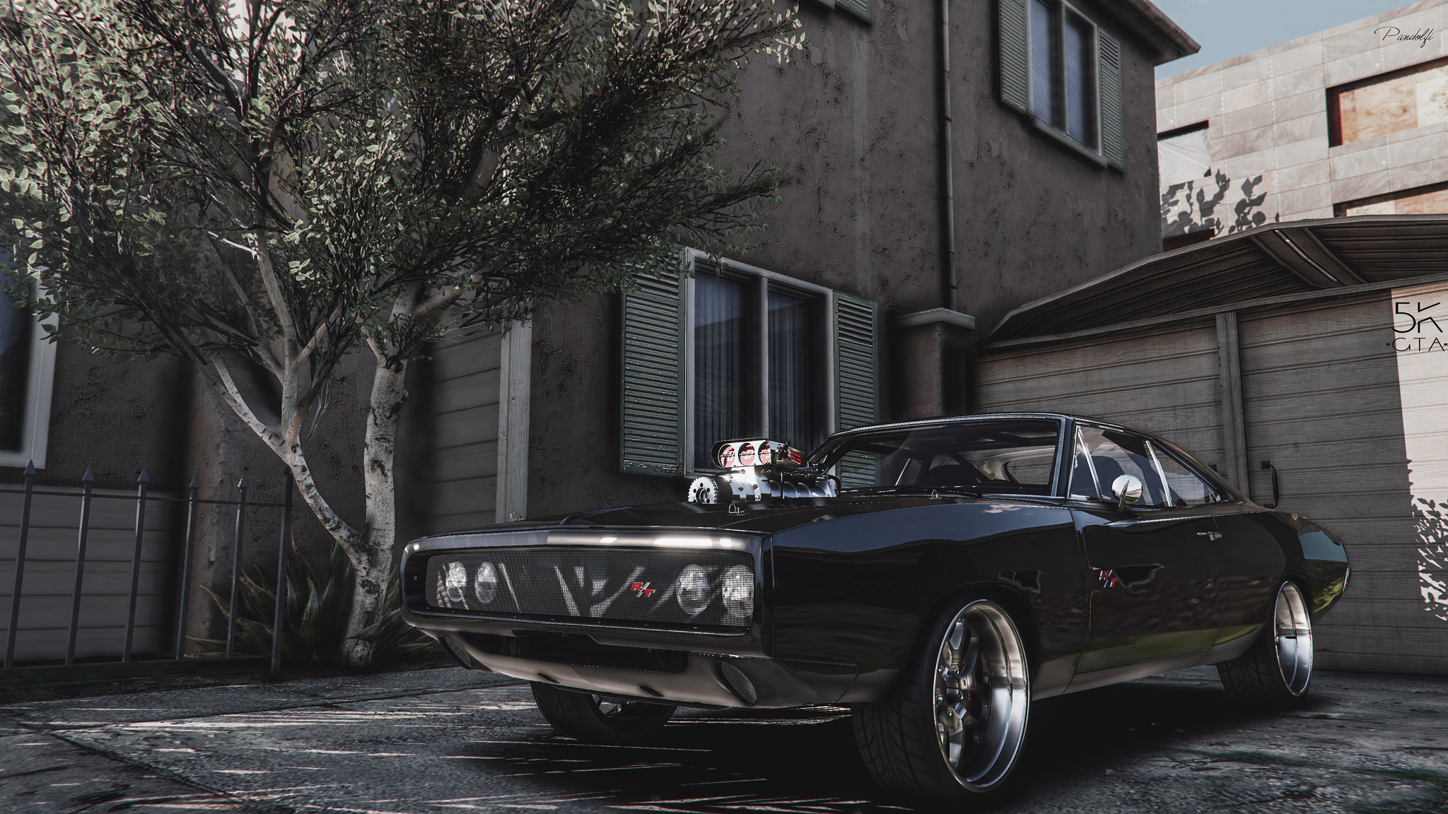 dom s 1970 dodge charger furious 7 working blower add on lods gta5 mods com dom s 1970 dodge charger furious 7