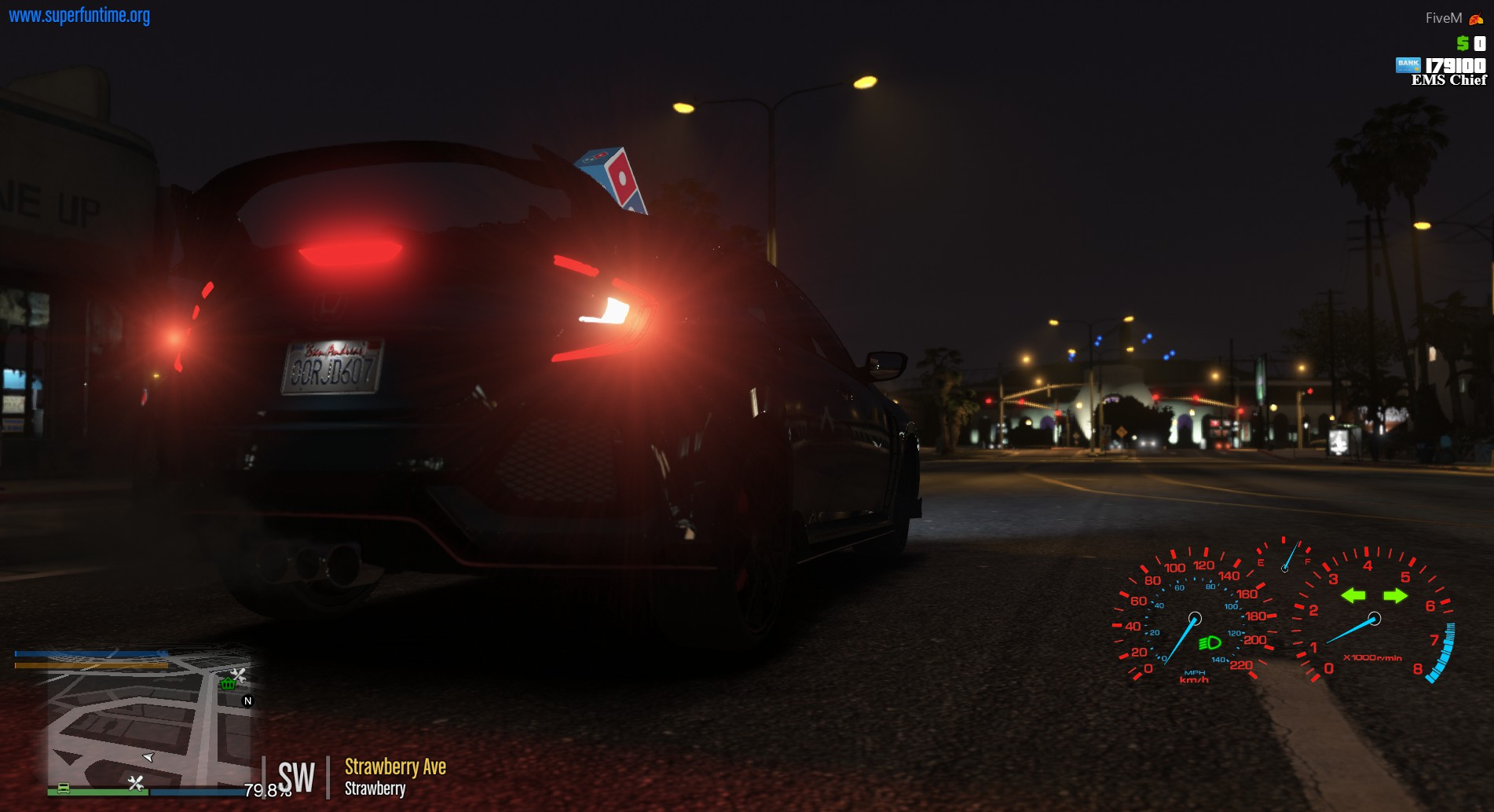 Domino's Pizza Delivery Cars & Light up Sign ydr - GTA5-Mods com