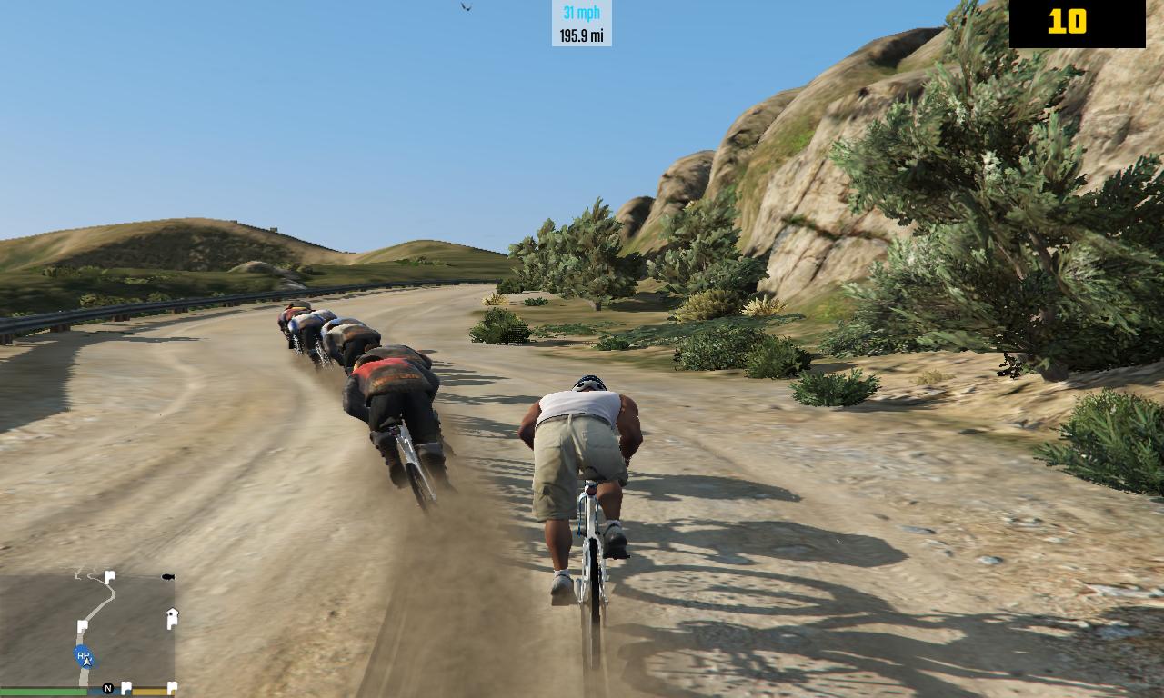 downhill racing gta5 mods com