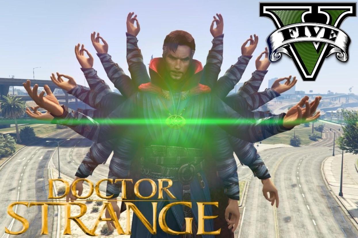 Dr Strange Sorcerer Supreme Mode Gta5 Mods Com