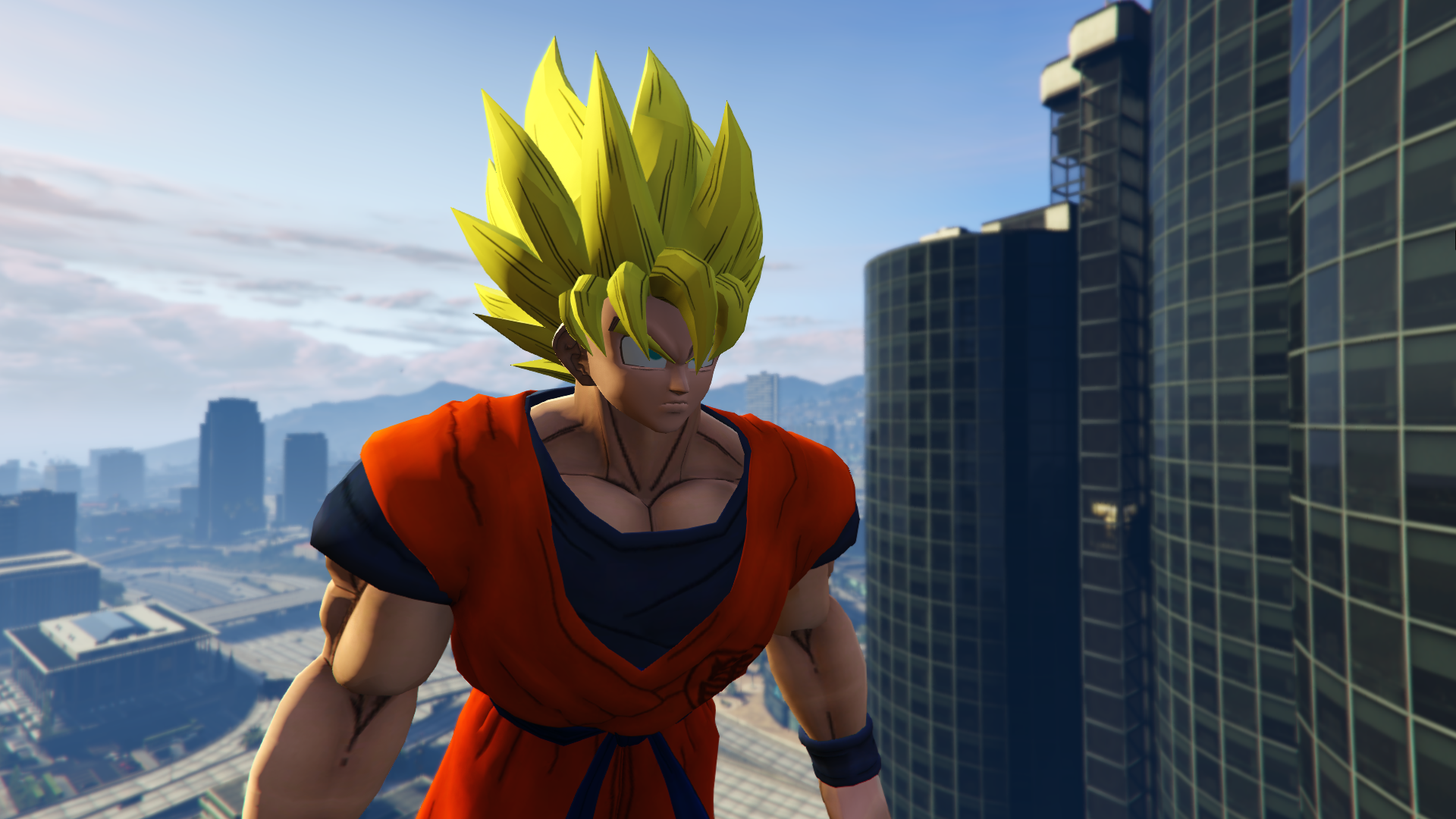 Dragon Ball Z Goku Gta5 Mods Com