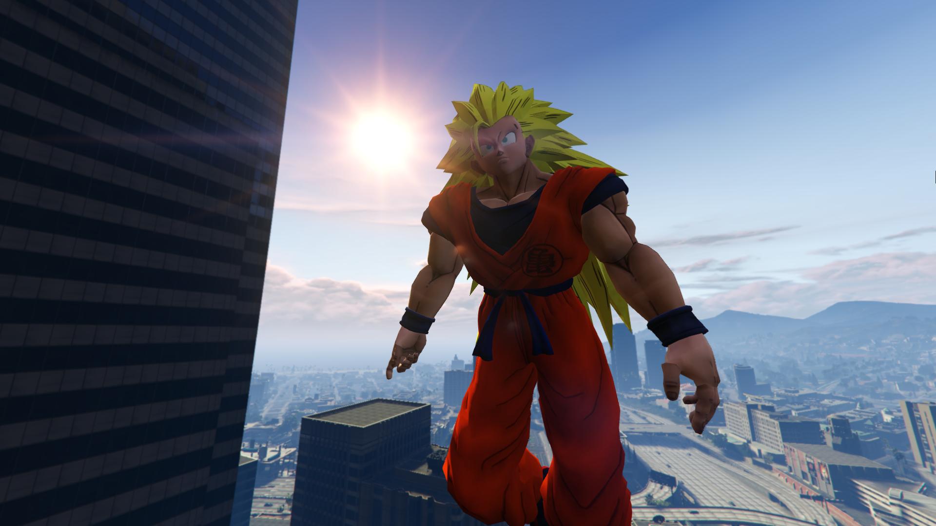 Dragon Ball Z Goku - GTA5-Mods com