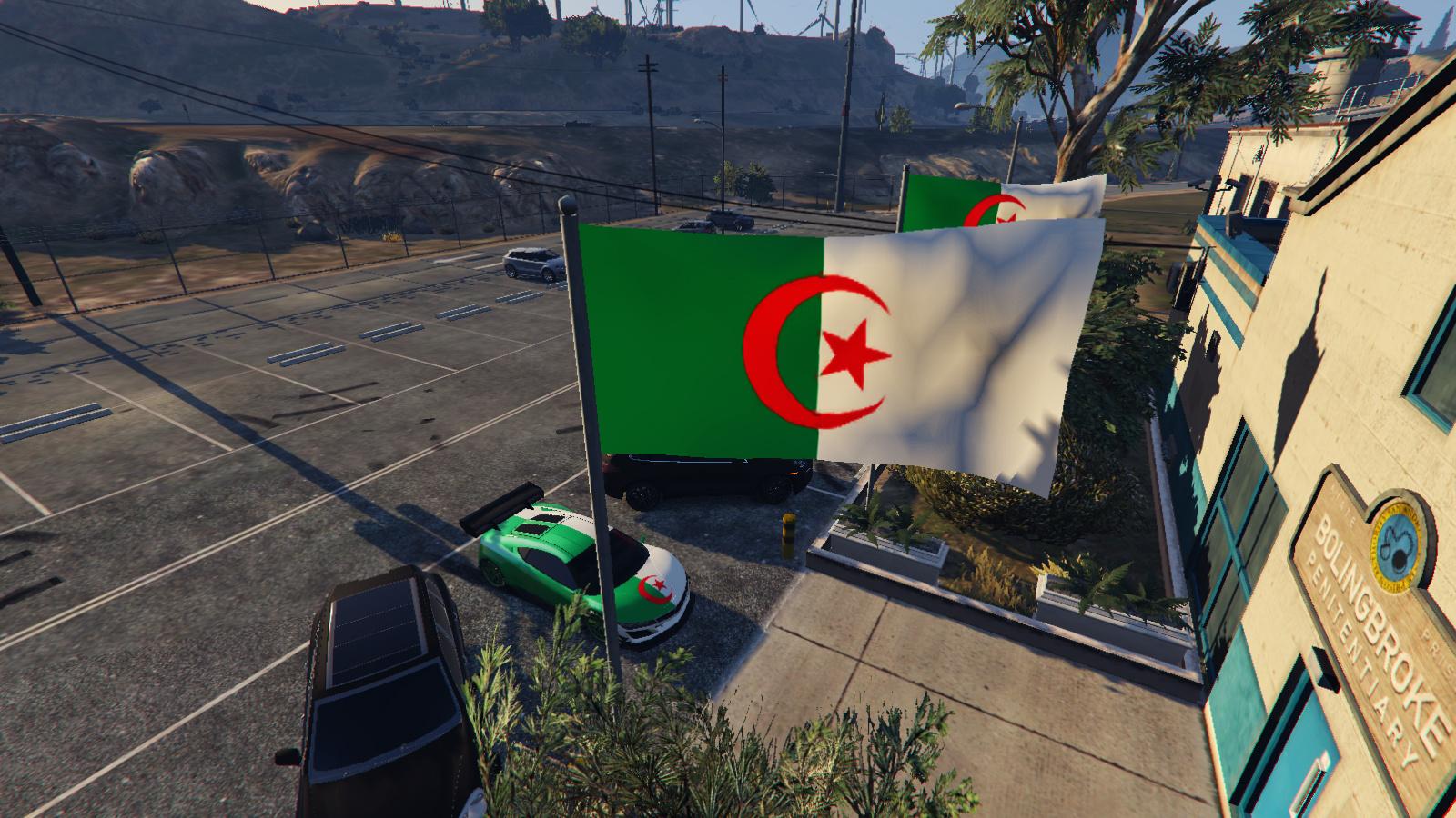 Algerian Flags Drapeau Algérie Gta5 Modscom
