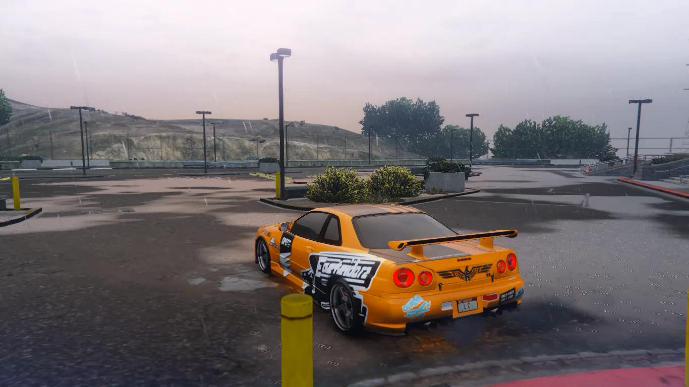 Drift Handling File for Nissan Skyline GTR R34 - GTA5-Mods.com