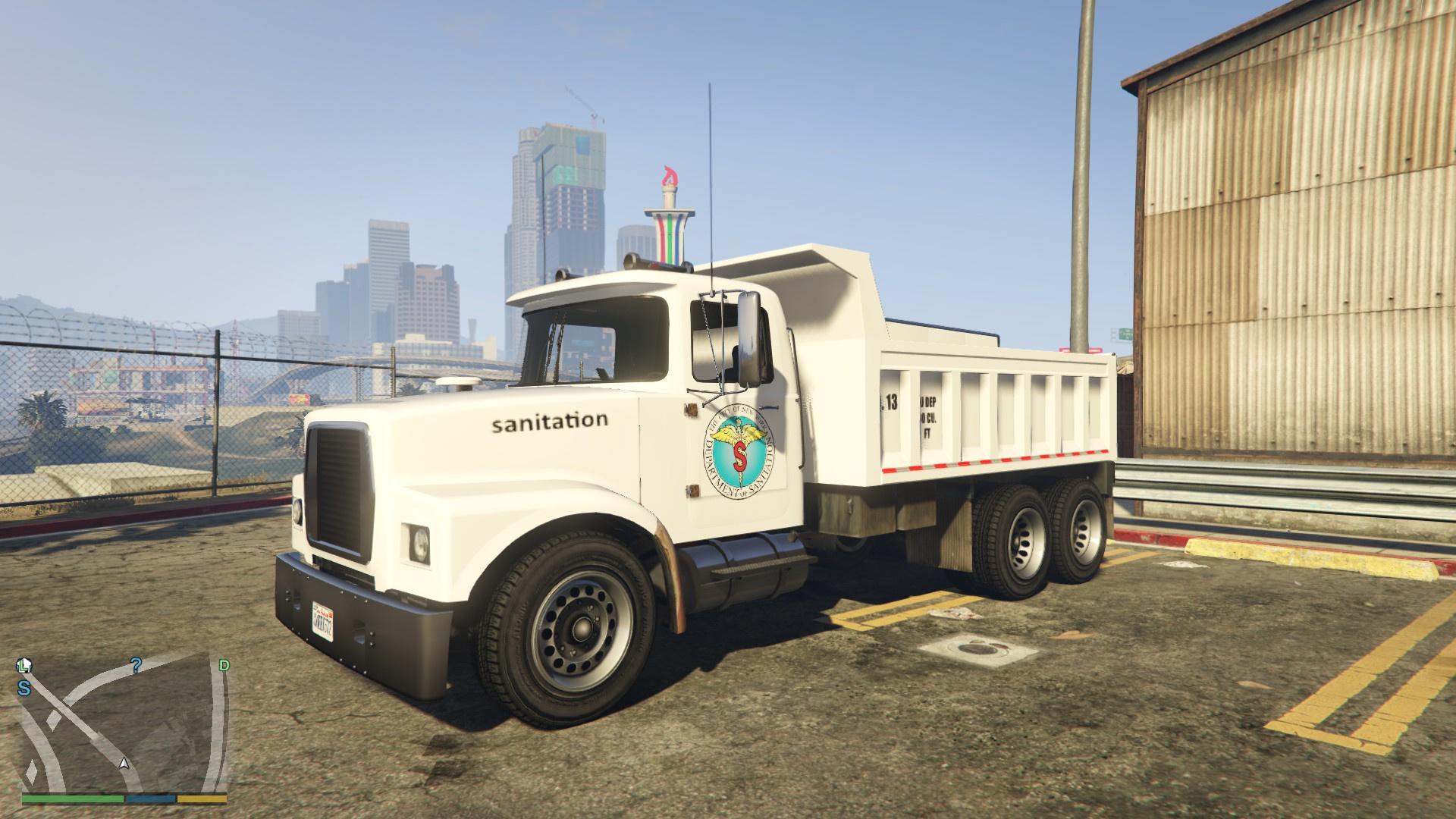 Gta dump truck