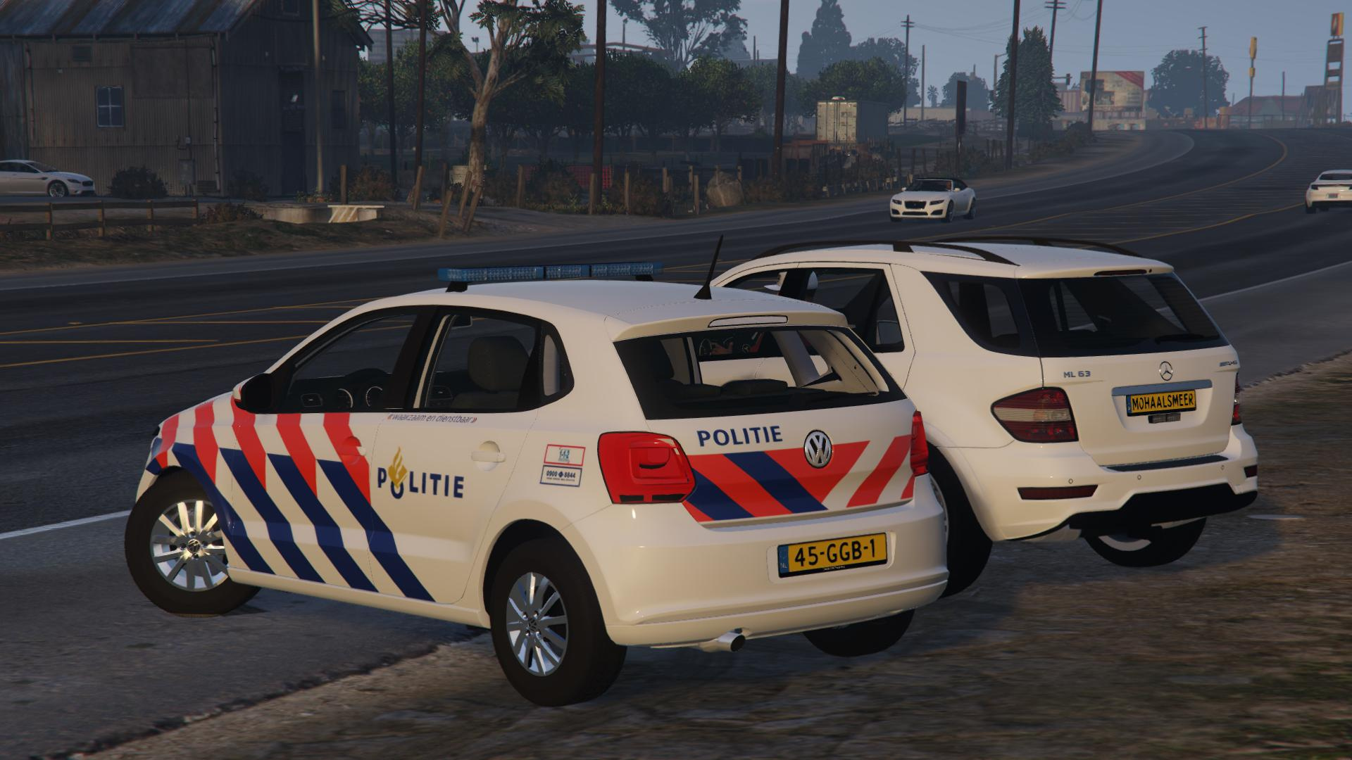 dutch volkswagen polo led police lights gta5. Black Bedroom Furniture Sets. Home Design Ideas