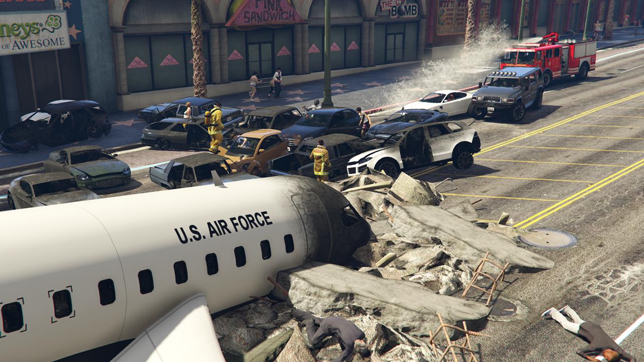 Dynamic Plane Crashes - GTA5-Mods com