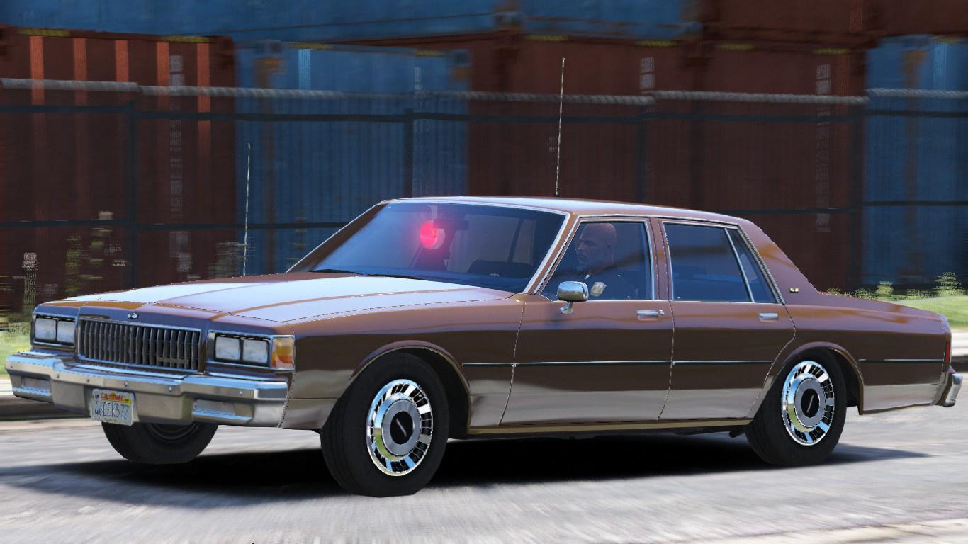ELS] 1986 Chevy Caprice 9C1- Los Angeles Police Dept  - GTA5