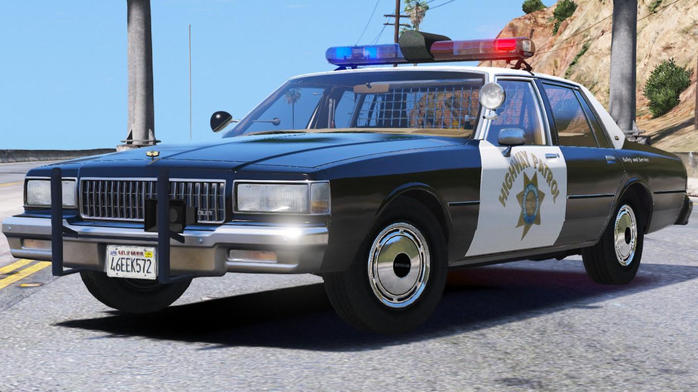 [ELS] 1990 Chevy Caprice 9C1- California Highway Patrol - GTA5-Mods.com