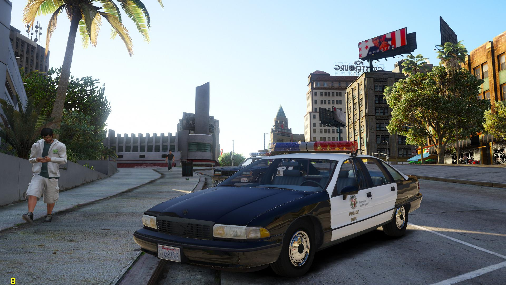 Els 1991 Chevrolet Caprice 9c1 Los Angeles Police