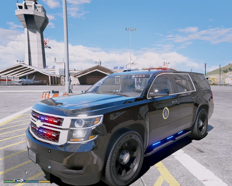 Els Chevrolet Tahoe 2015 - Secret Service