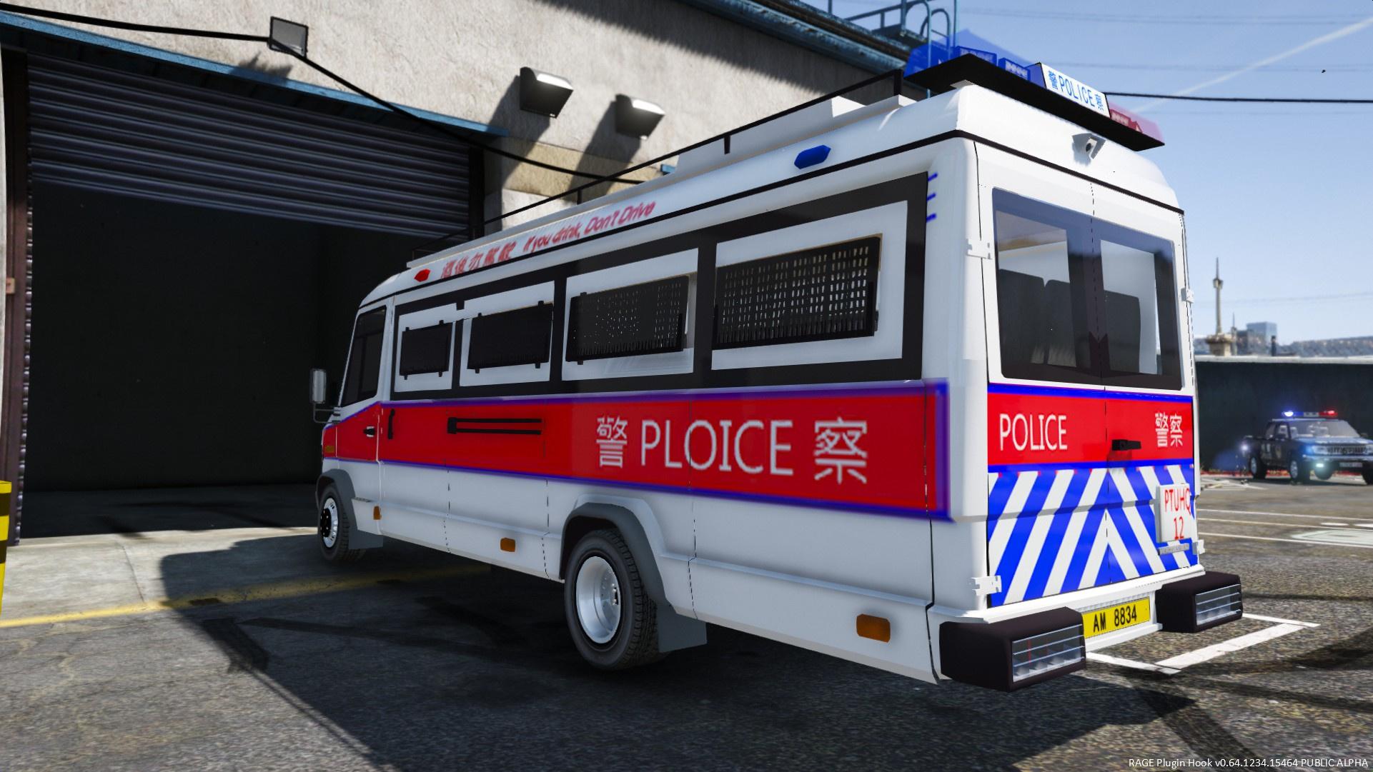 95突击车_[ELS]China Hong Kong Police Benz 815D - GTA5-Mods.com