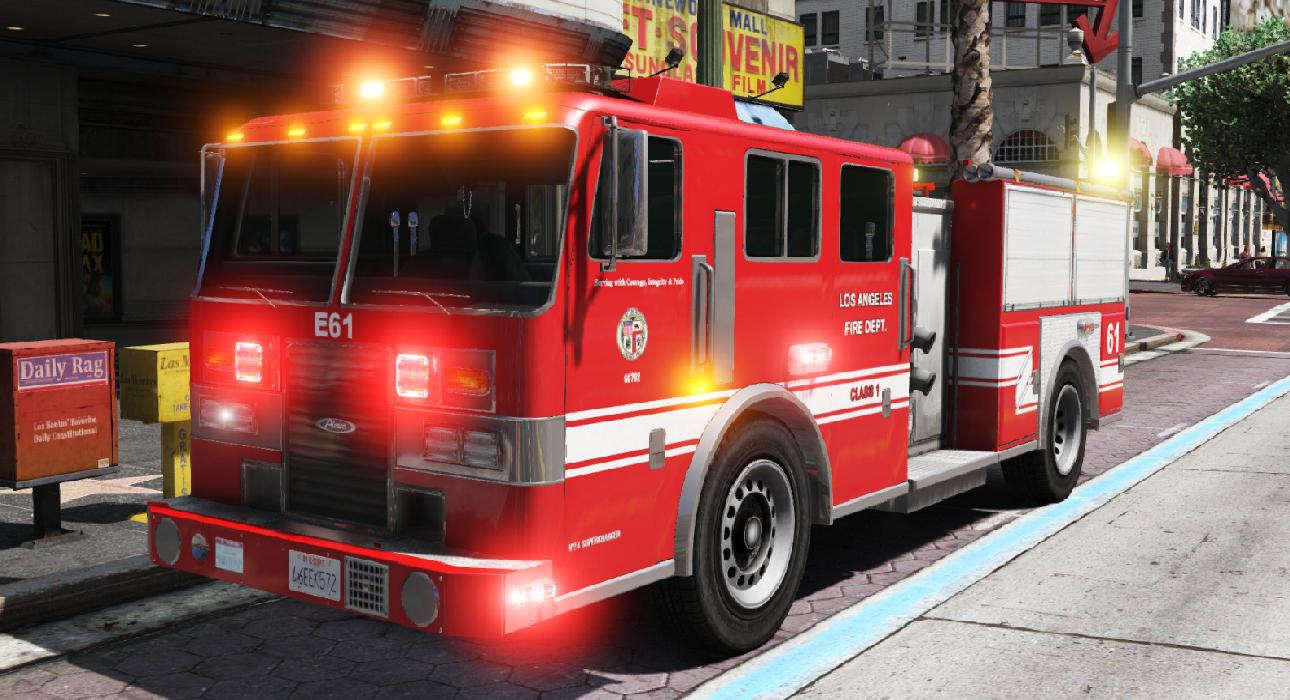 Latest GTA 5 Mods - Firetruck - GTA5-Mods com