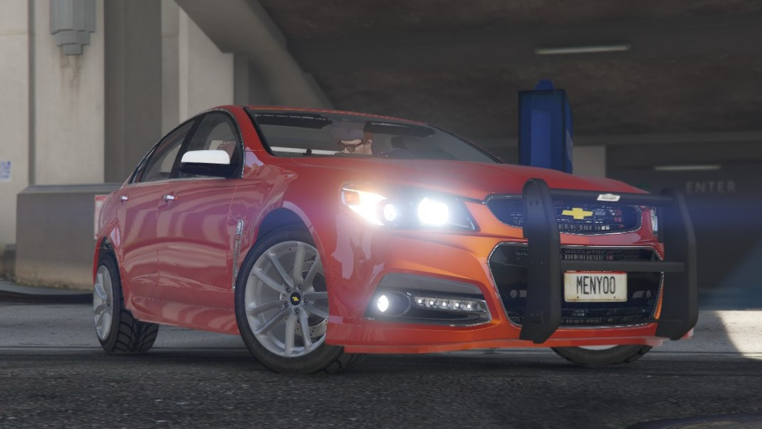 Els Unmarked Chevrolet Ss Gta5 Mods Com