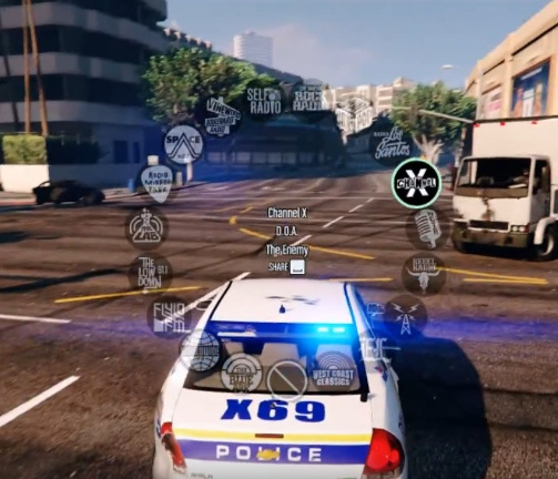 Music Radio Enabled for Police Vehicles - GTA5-Mods com