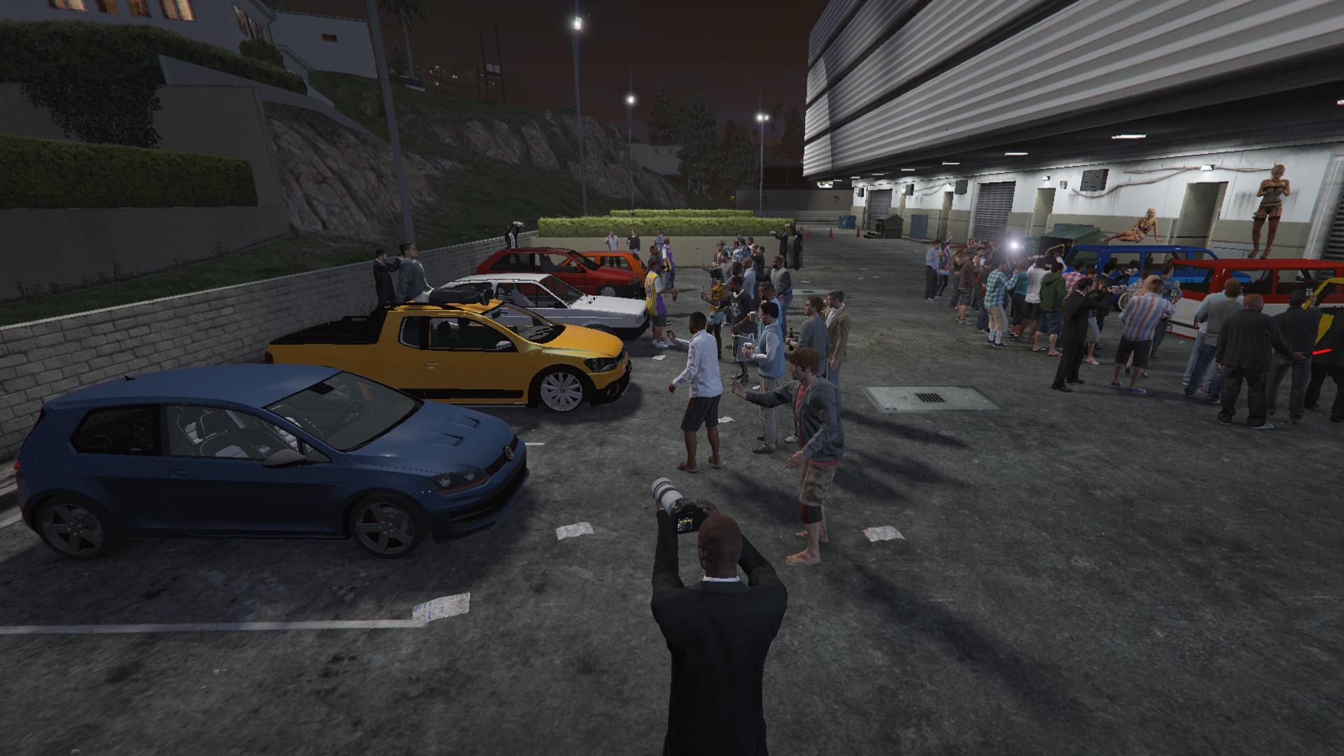 Lowered Car Meet Encontro De Carros Rebaixados Gta5