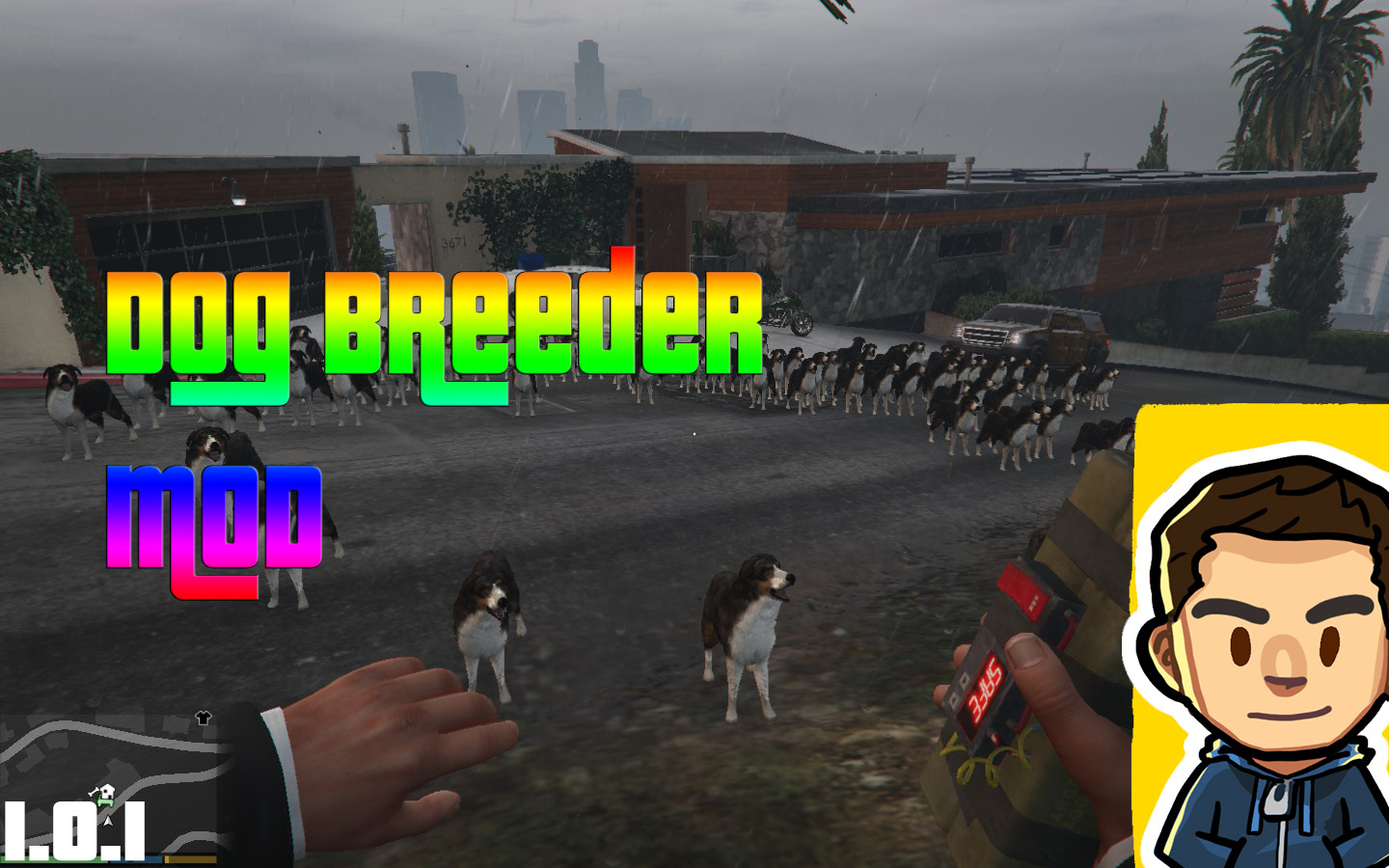 Grand Theft Auto 5 Part 3 Walkthrough Gameplay - Chop the ... |Gta 5 Dog Breeds