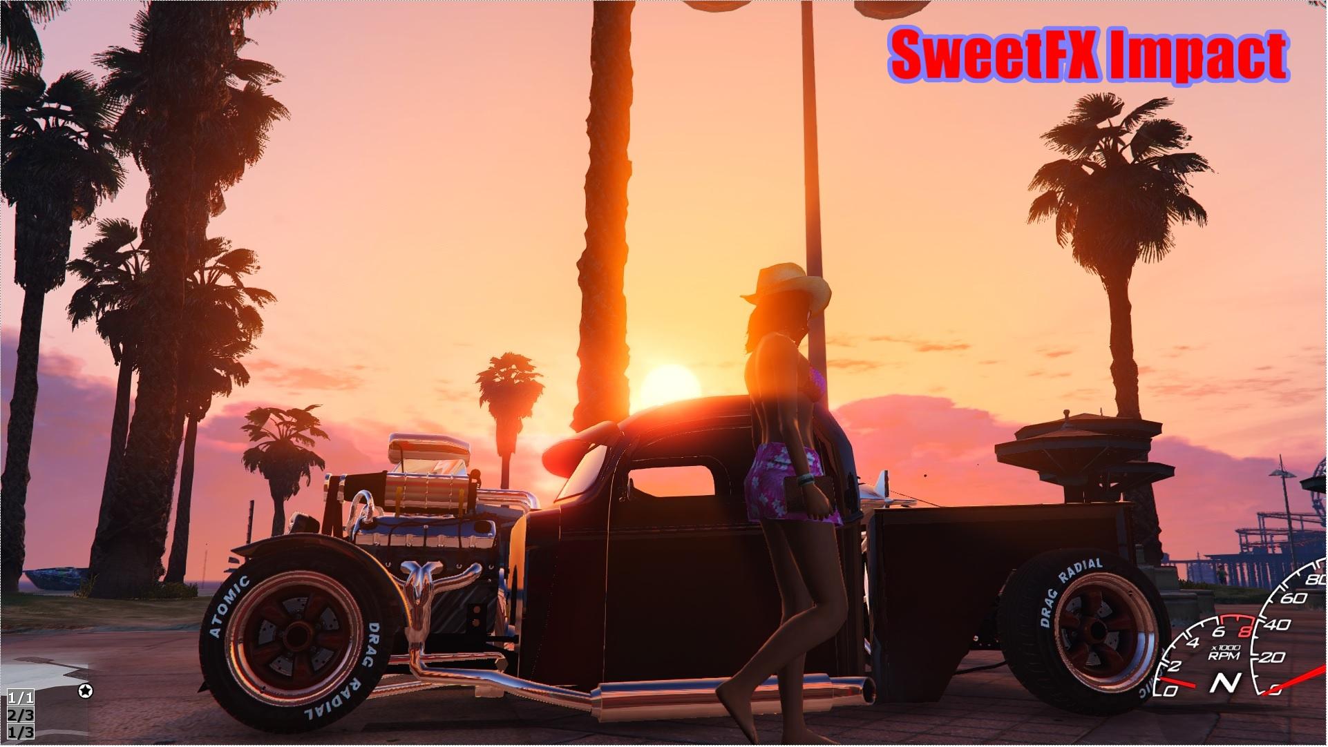 Enhanced Vehicle Reflection & Night Lighting (ENB SweetFX