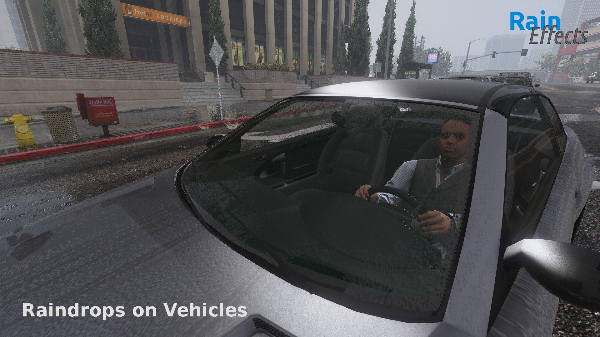 Rain Effects - Enhancement Script - GTA5-Mods com