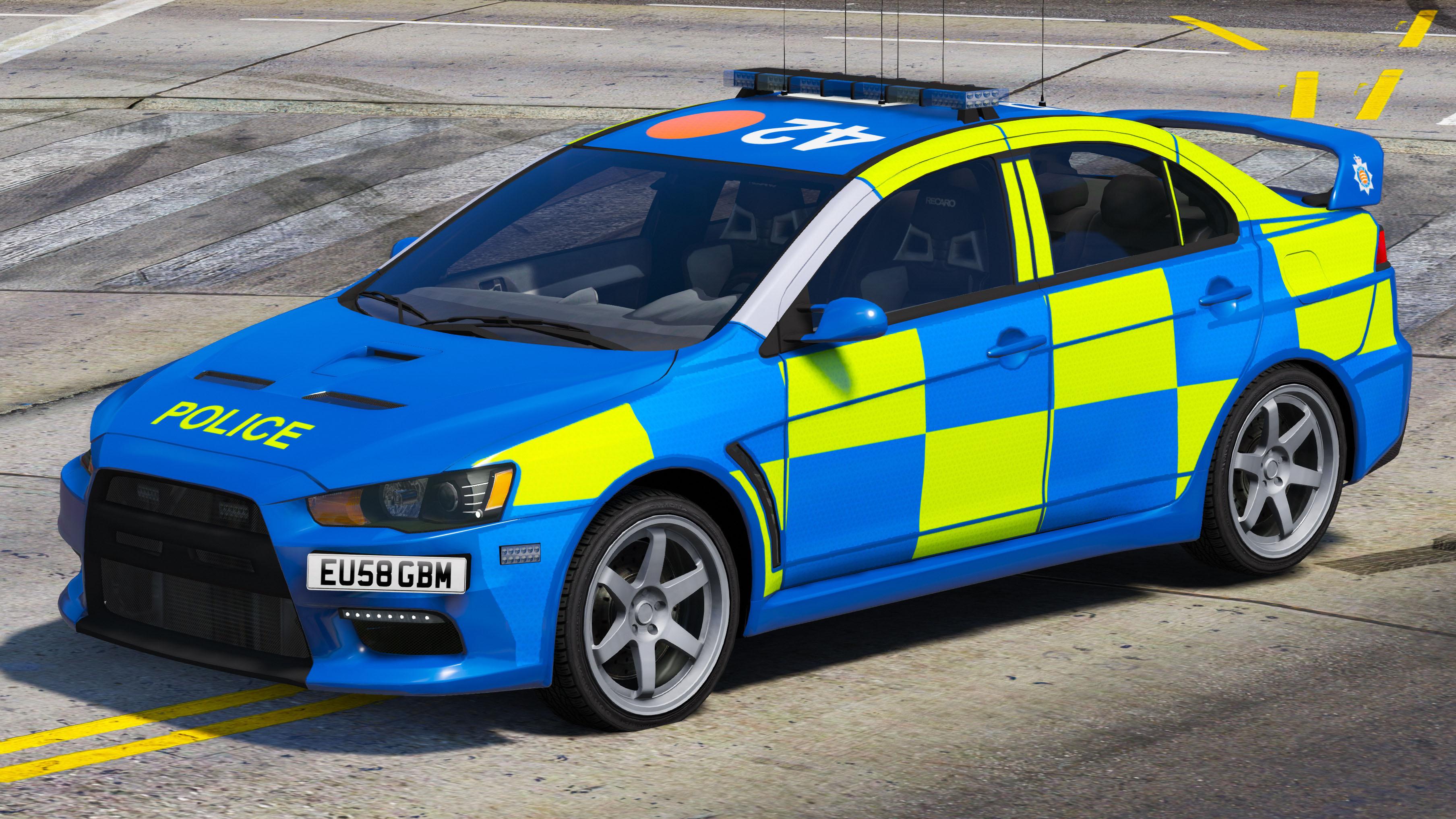 Essex Police Mitsubishi Evo X Gta5 Mods Com