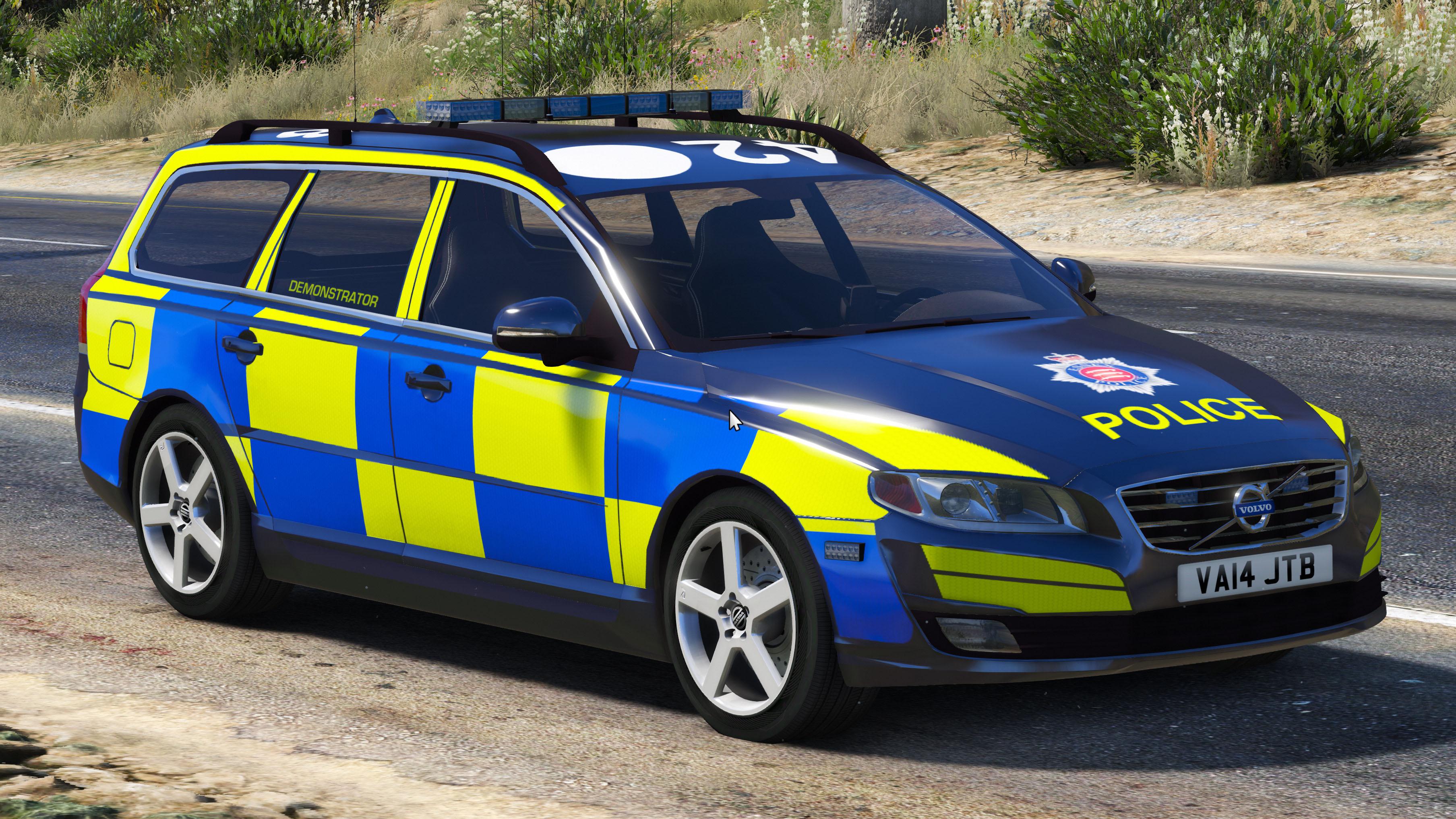 Essex Police Volvo V70 Gta5 Mods Com